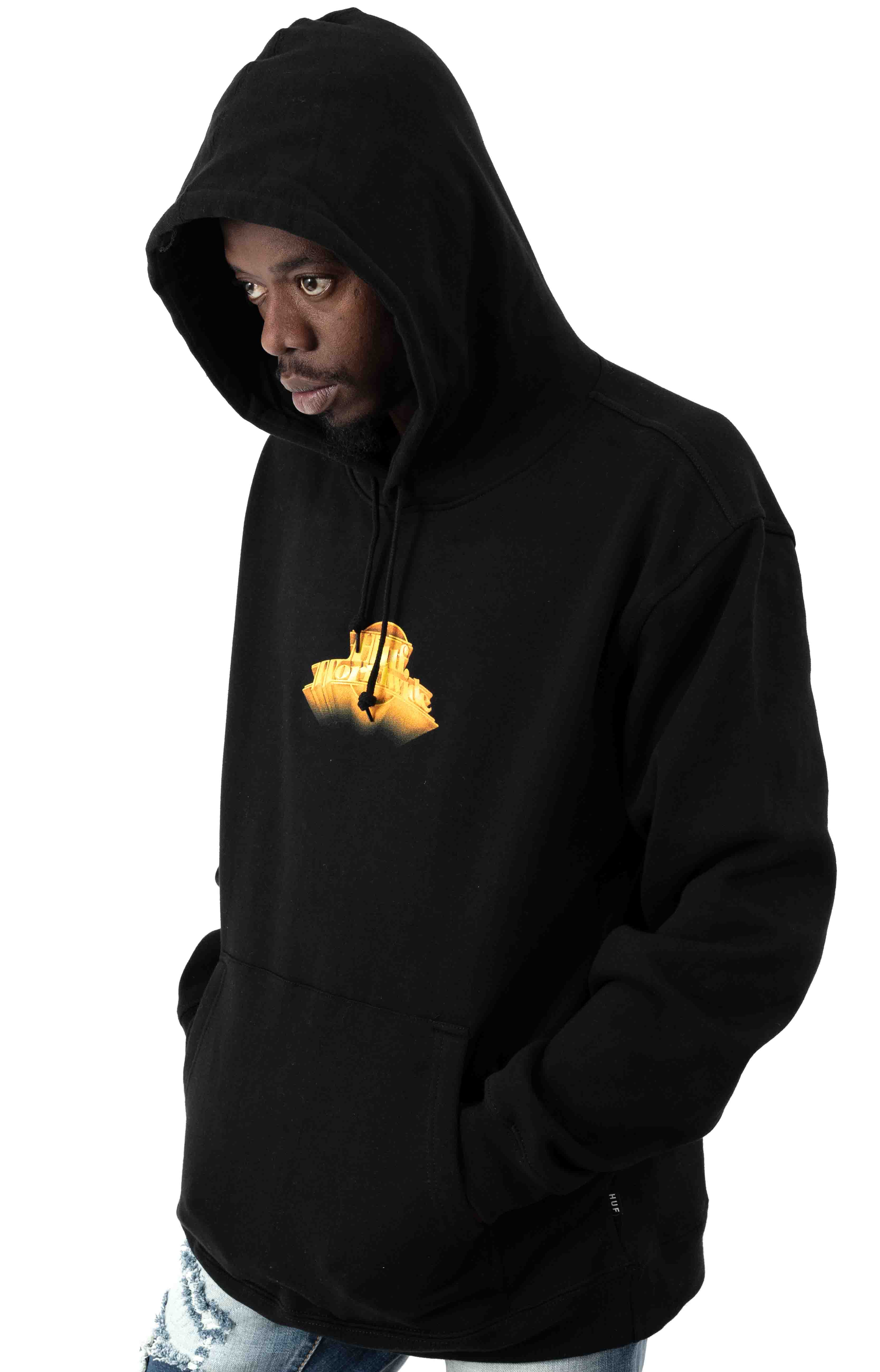 Greatest Hits Classic H Pullover Hoodie - Black 3