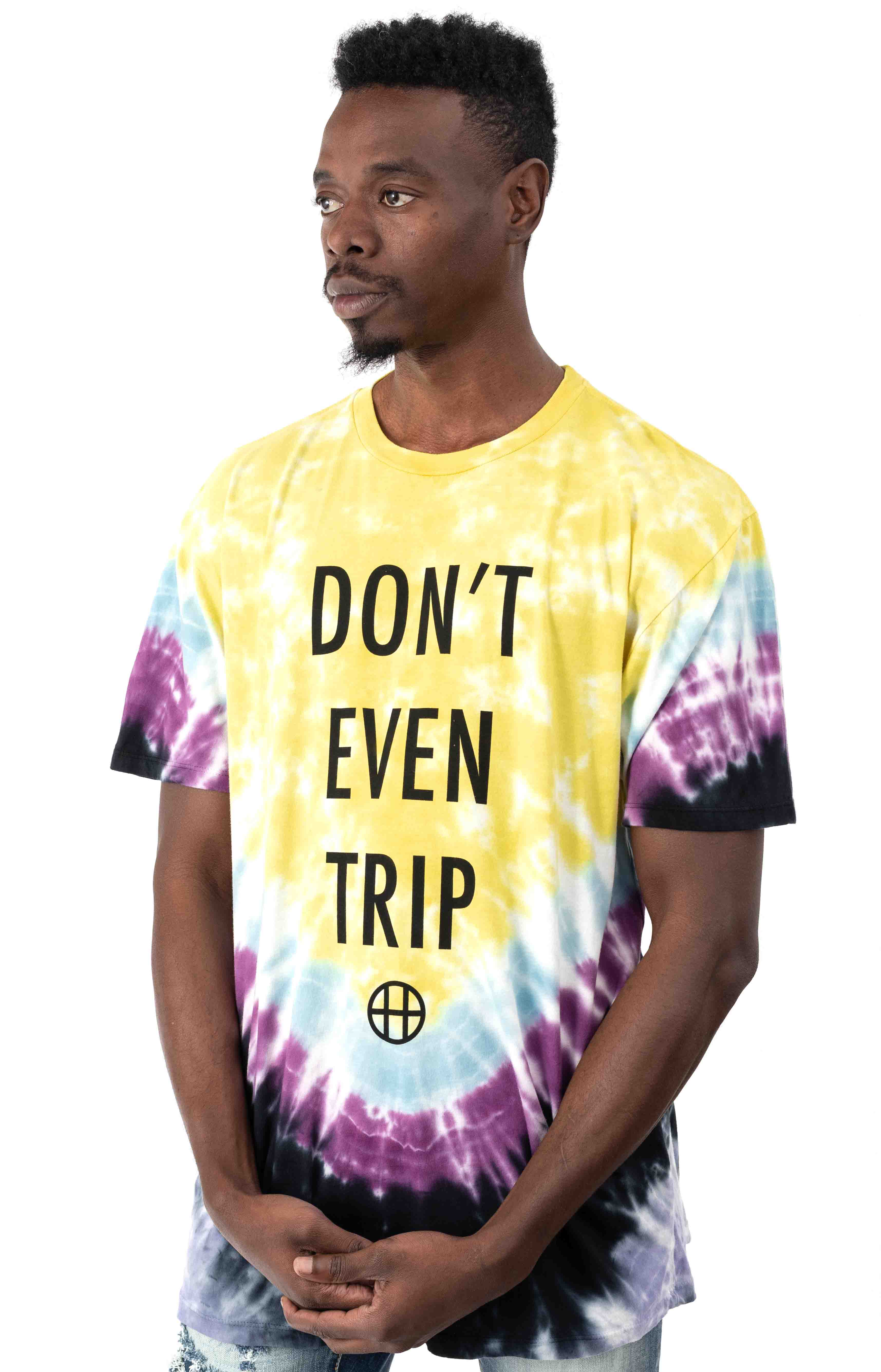 Don't Even Trip T-Shirt - Yellow  2