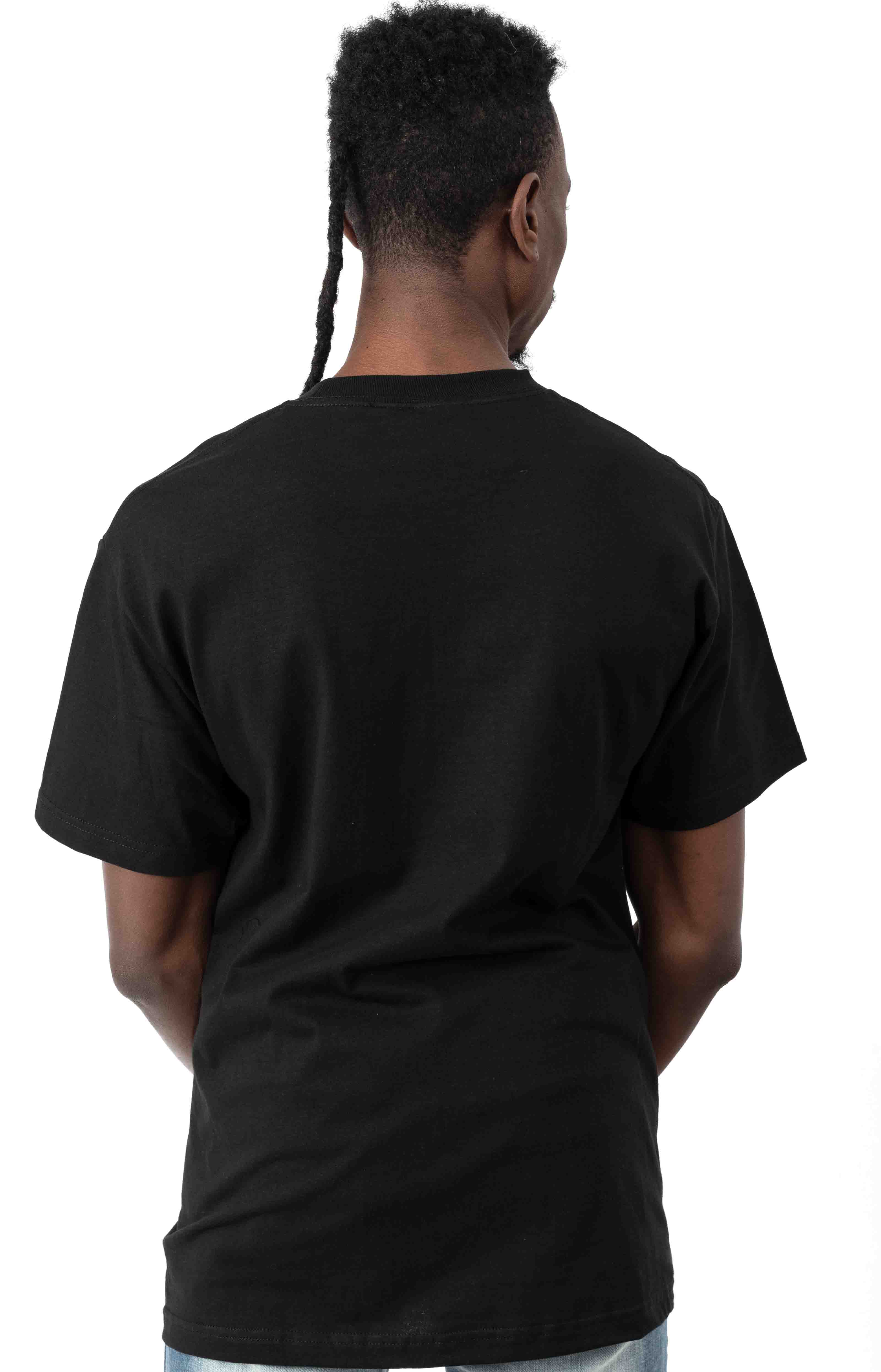 Youth Of Today T-Shirt - Black  3