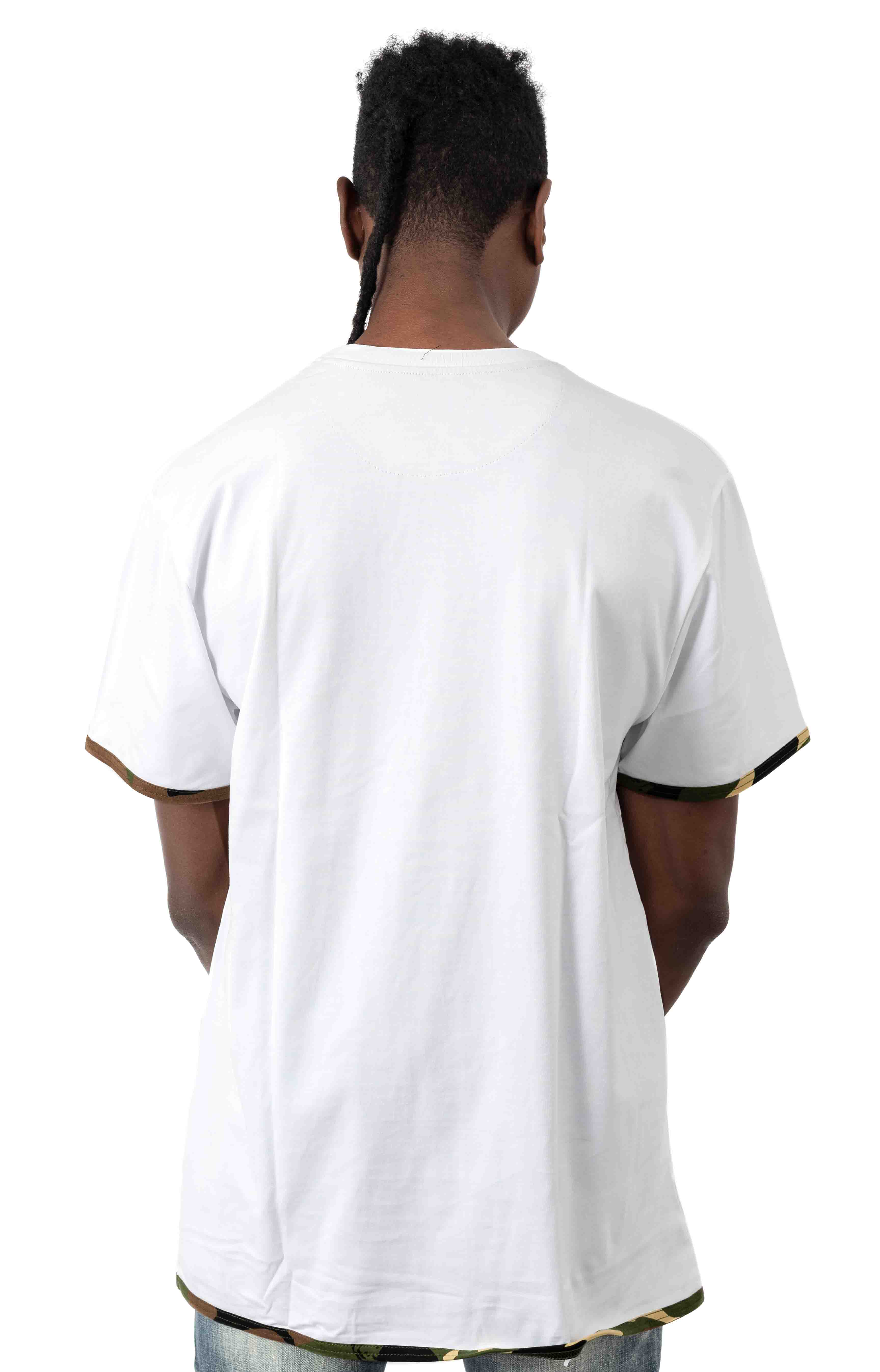 BB Collective SS Knit T-Shirt - White 3