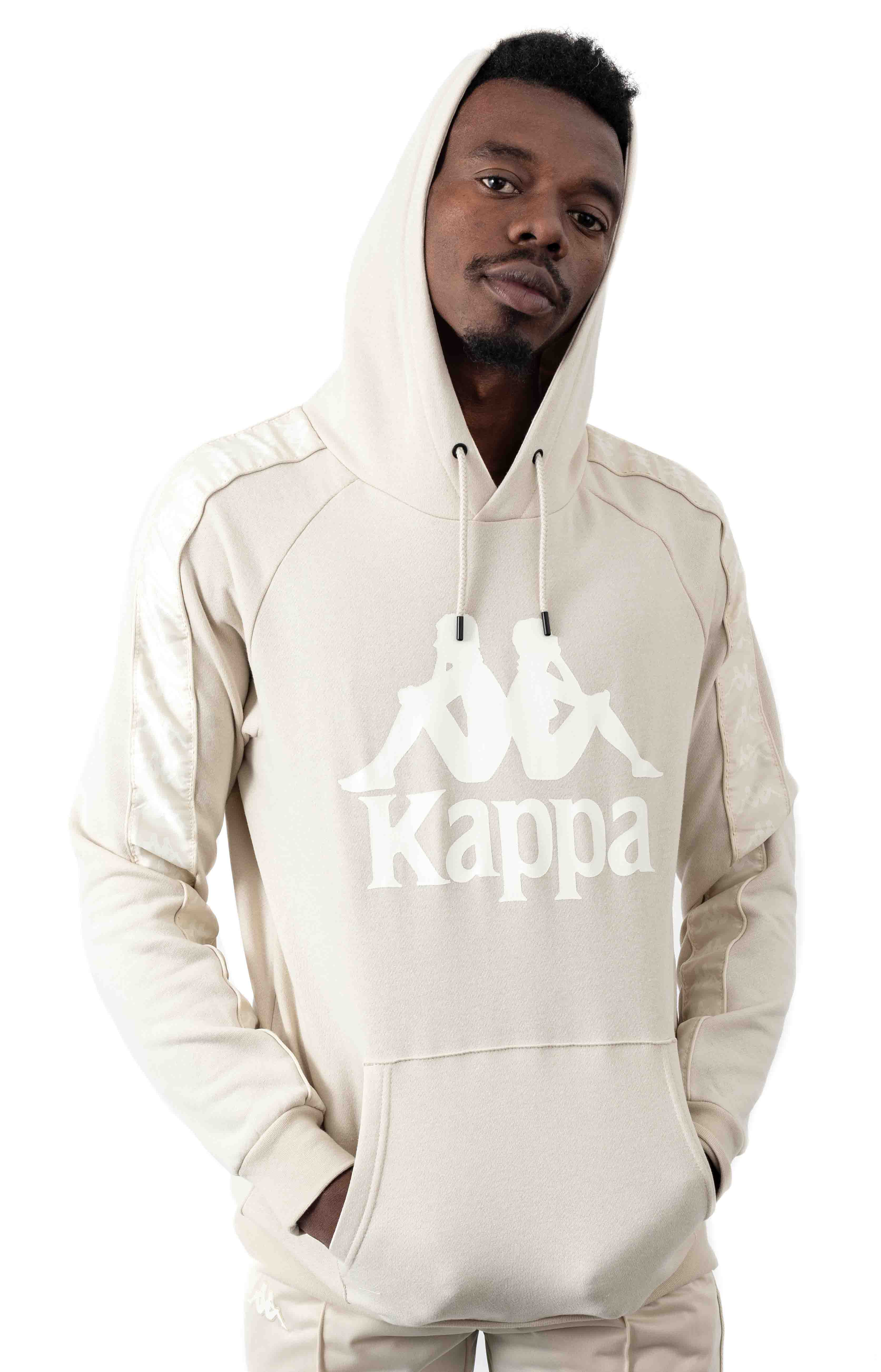 Authentic Hurtado Pullover Hoodie - Beige/White