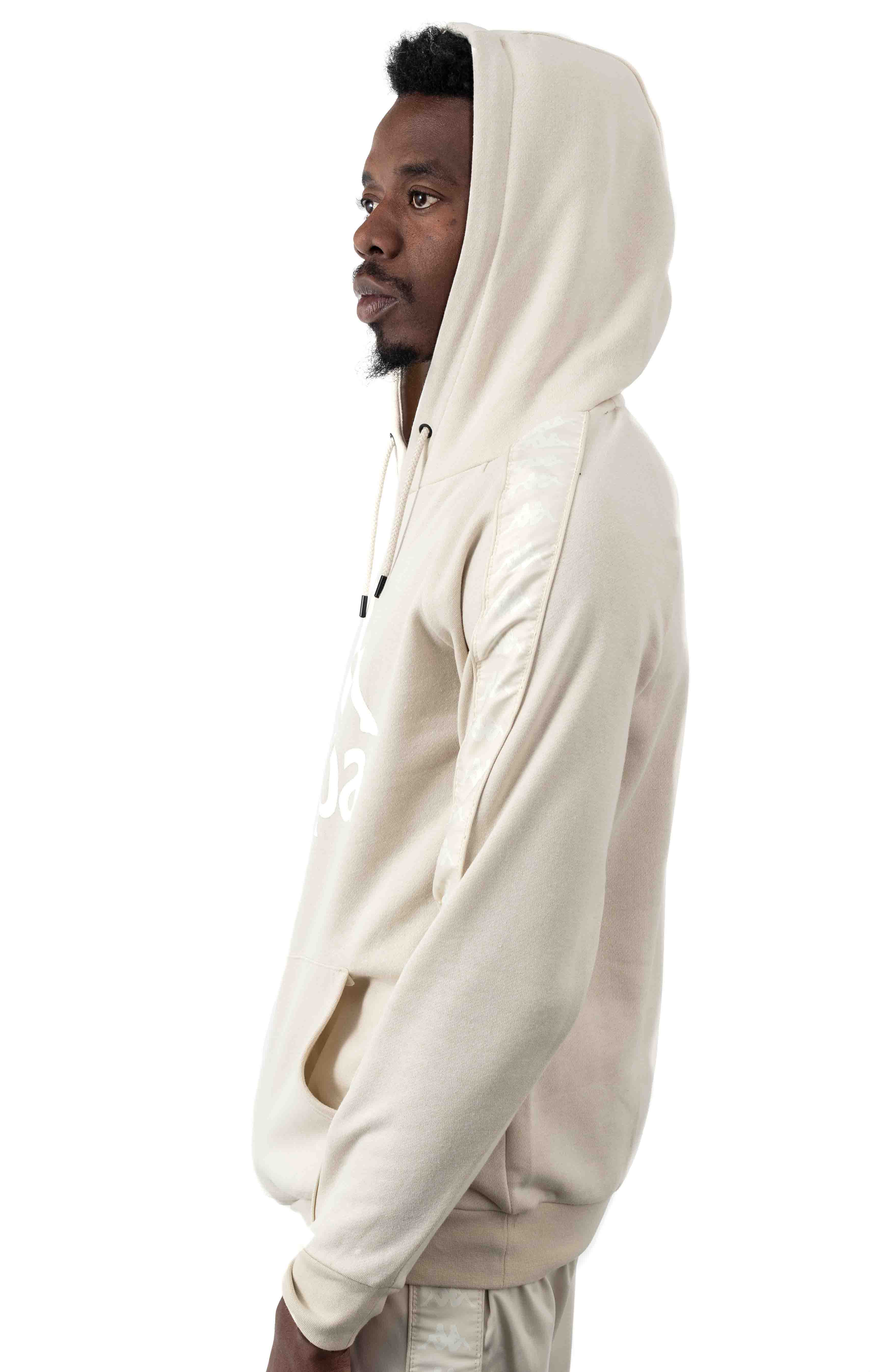 Authentic Hurtado Pullover Hoodie - Beige/White 2