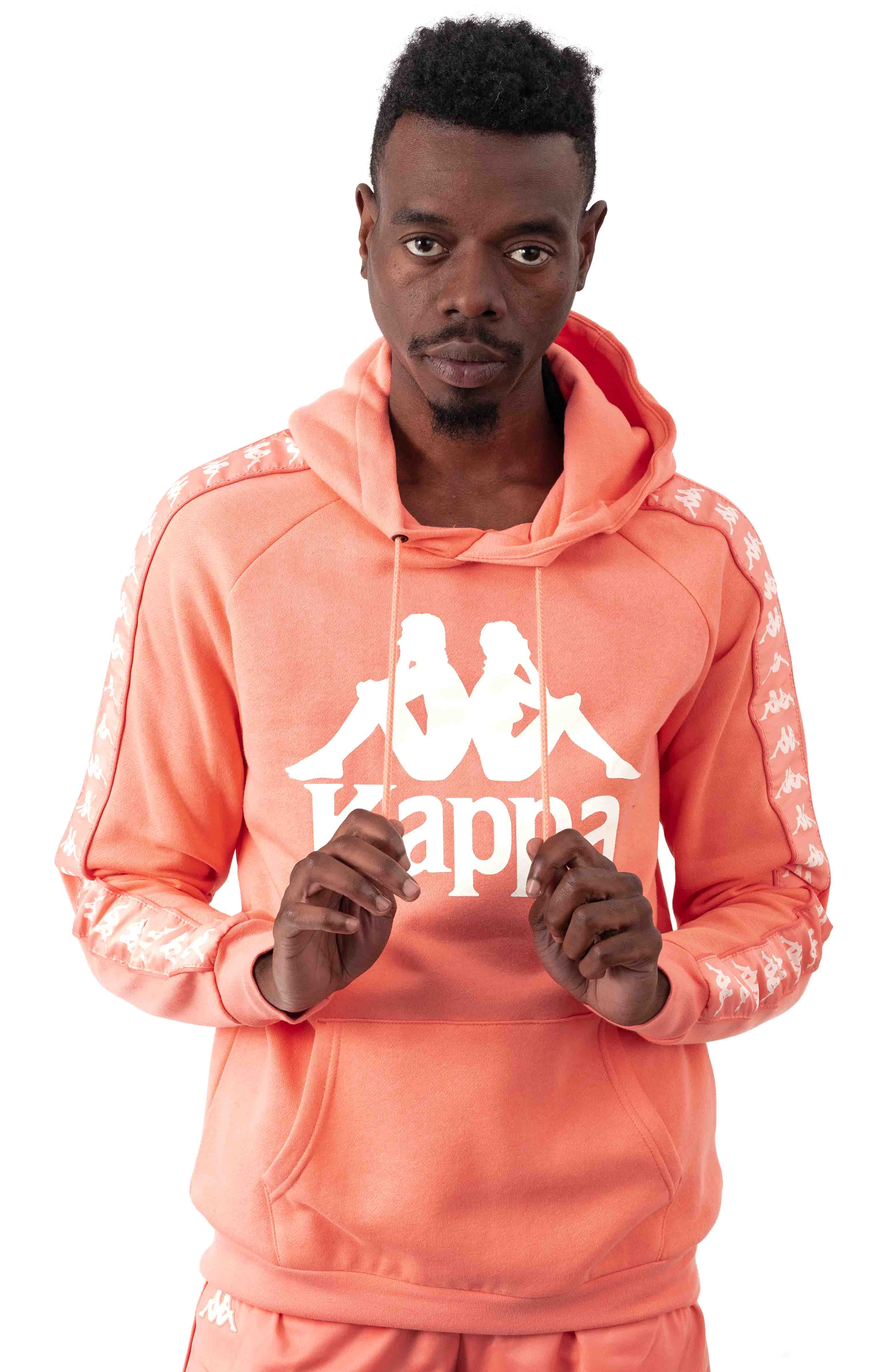 Authentic Hurtado Pullover Hoodie - Pink/White