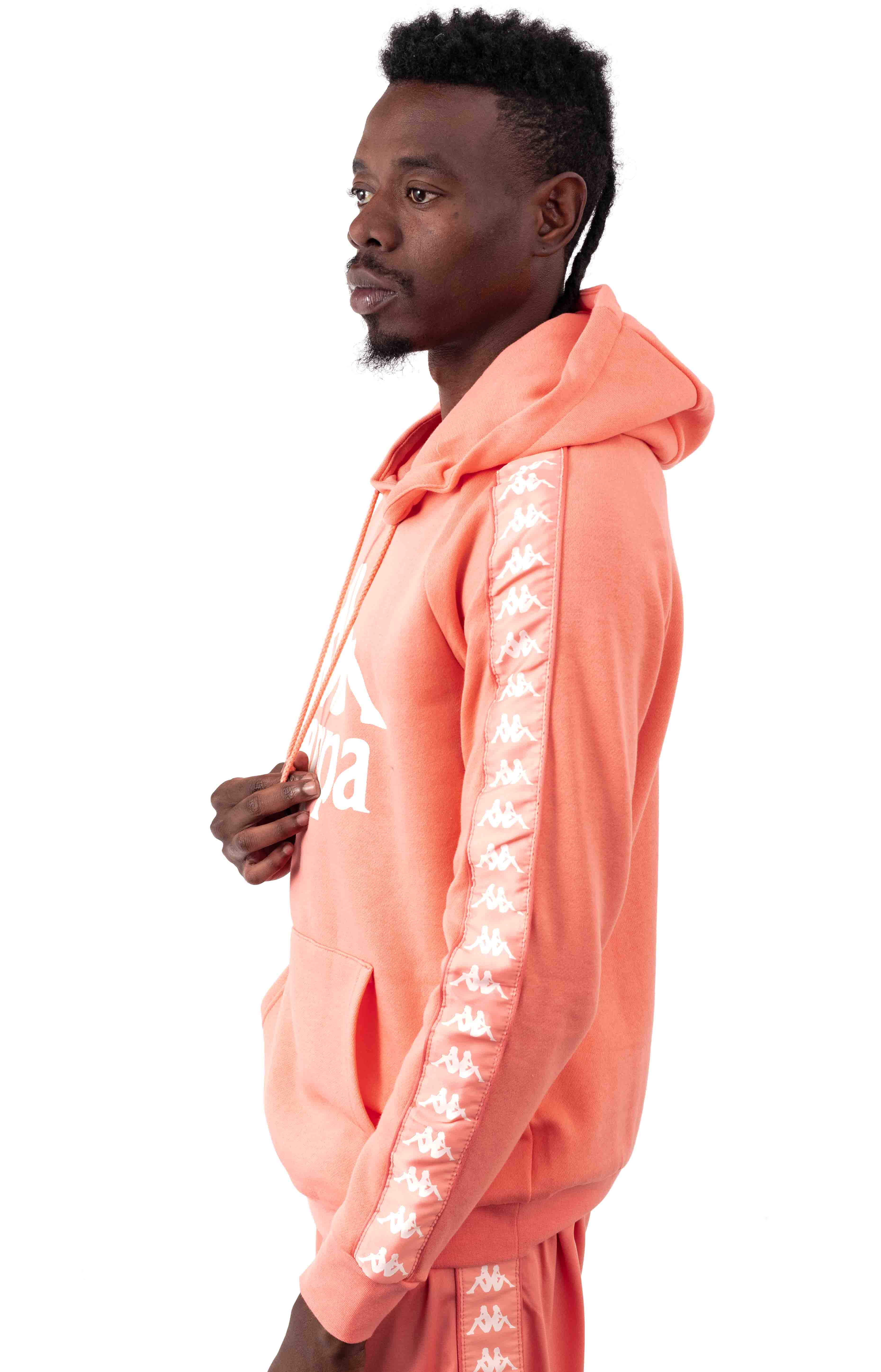 Authentic Hurtado Pullover Hoodie - Pink/White 2