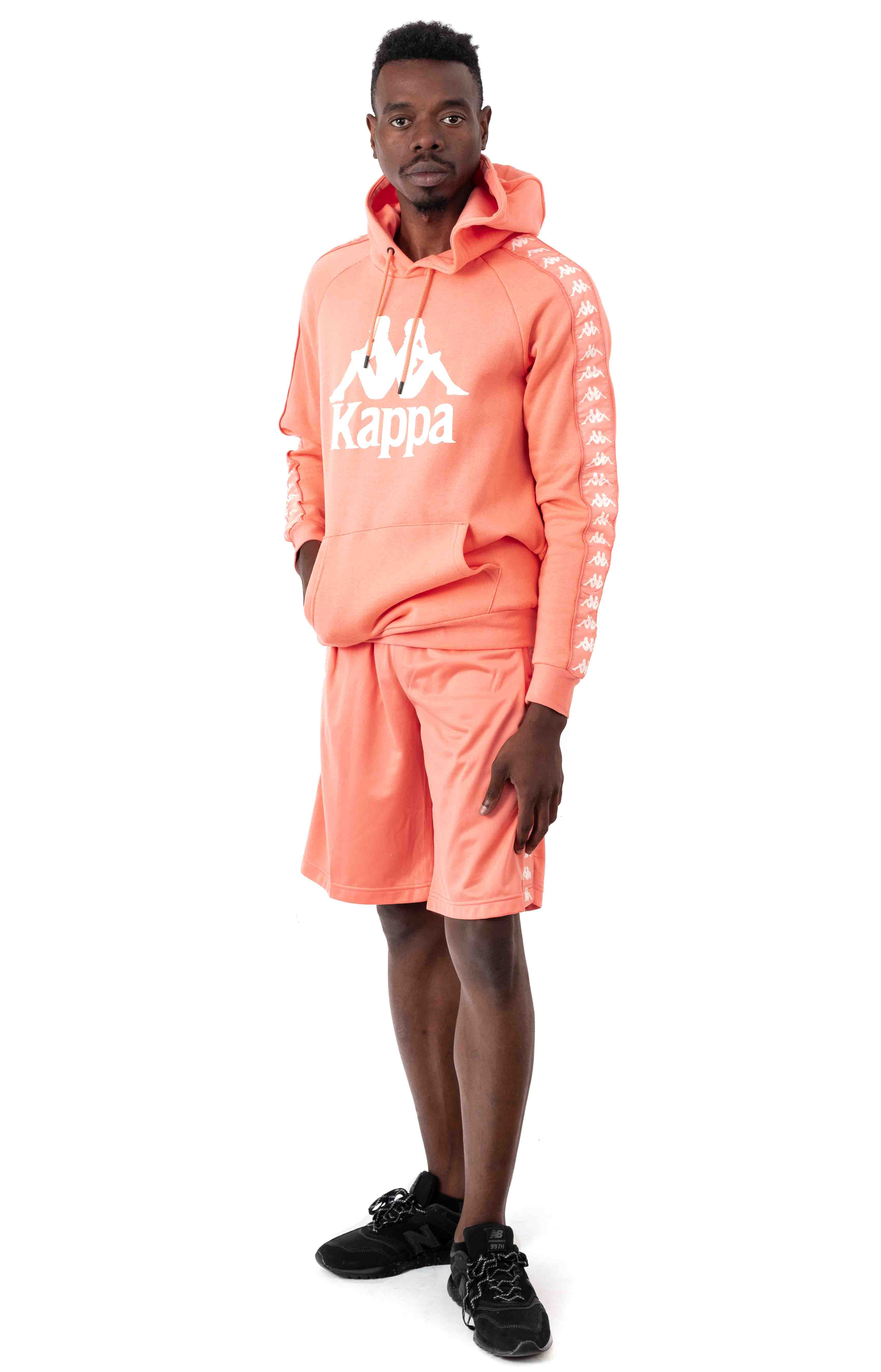 Authentic Hurtado Pullover Hoodie - Pink/White 4