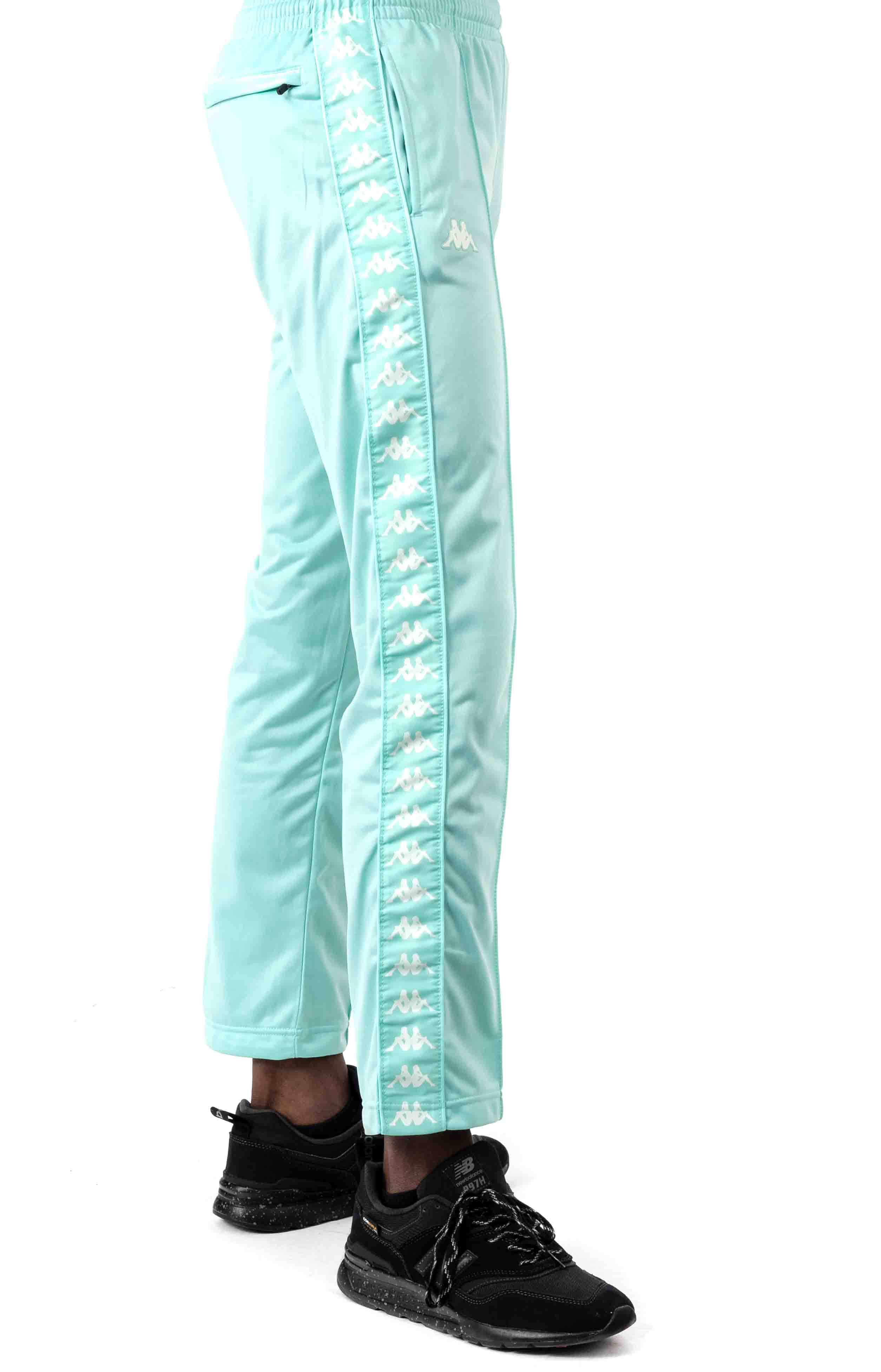 222 Banda Astoriazz Trackpant - Green Aqua