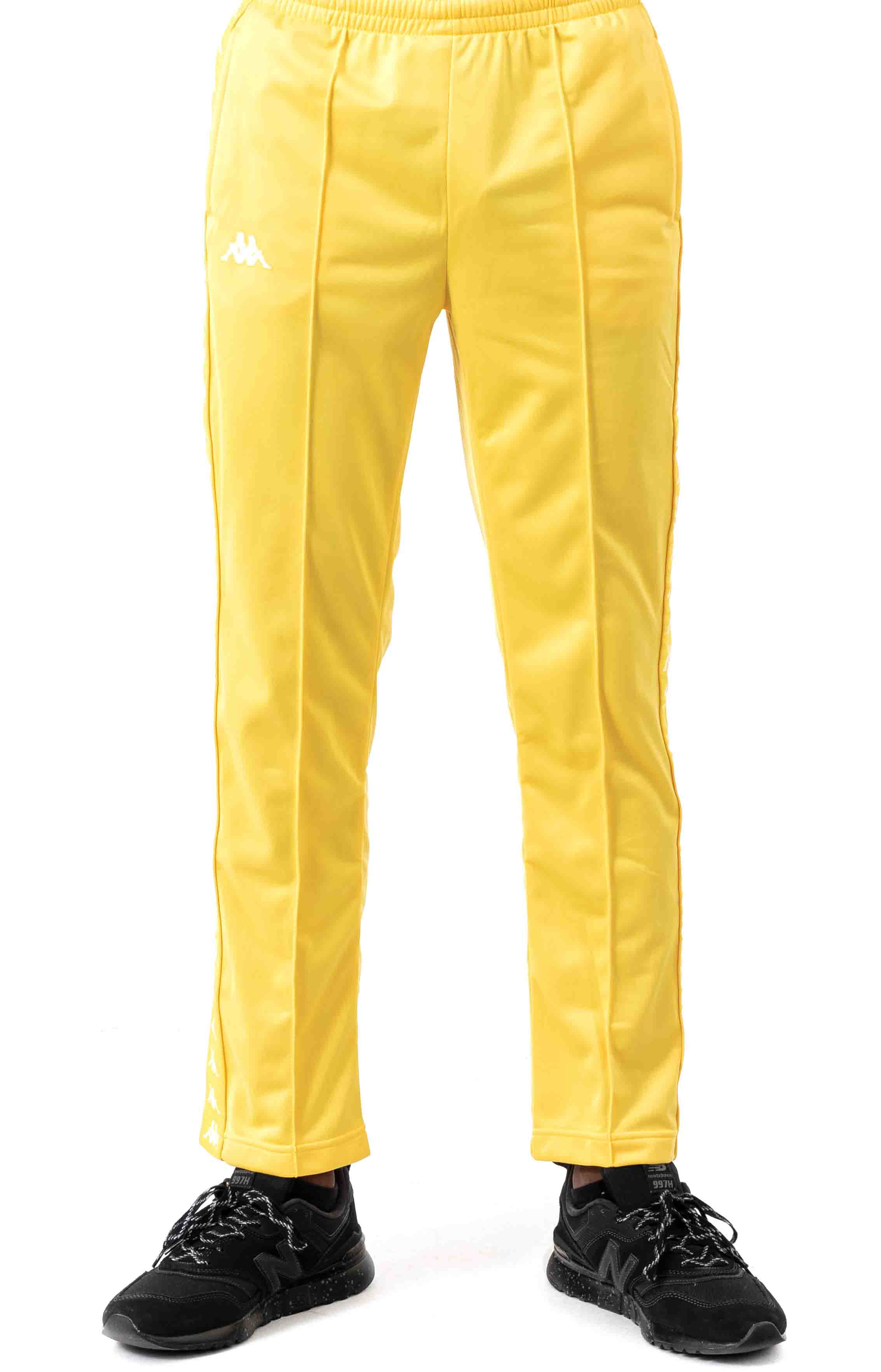 222 Banda Astoriazz Trackpant - Yellow/White 2