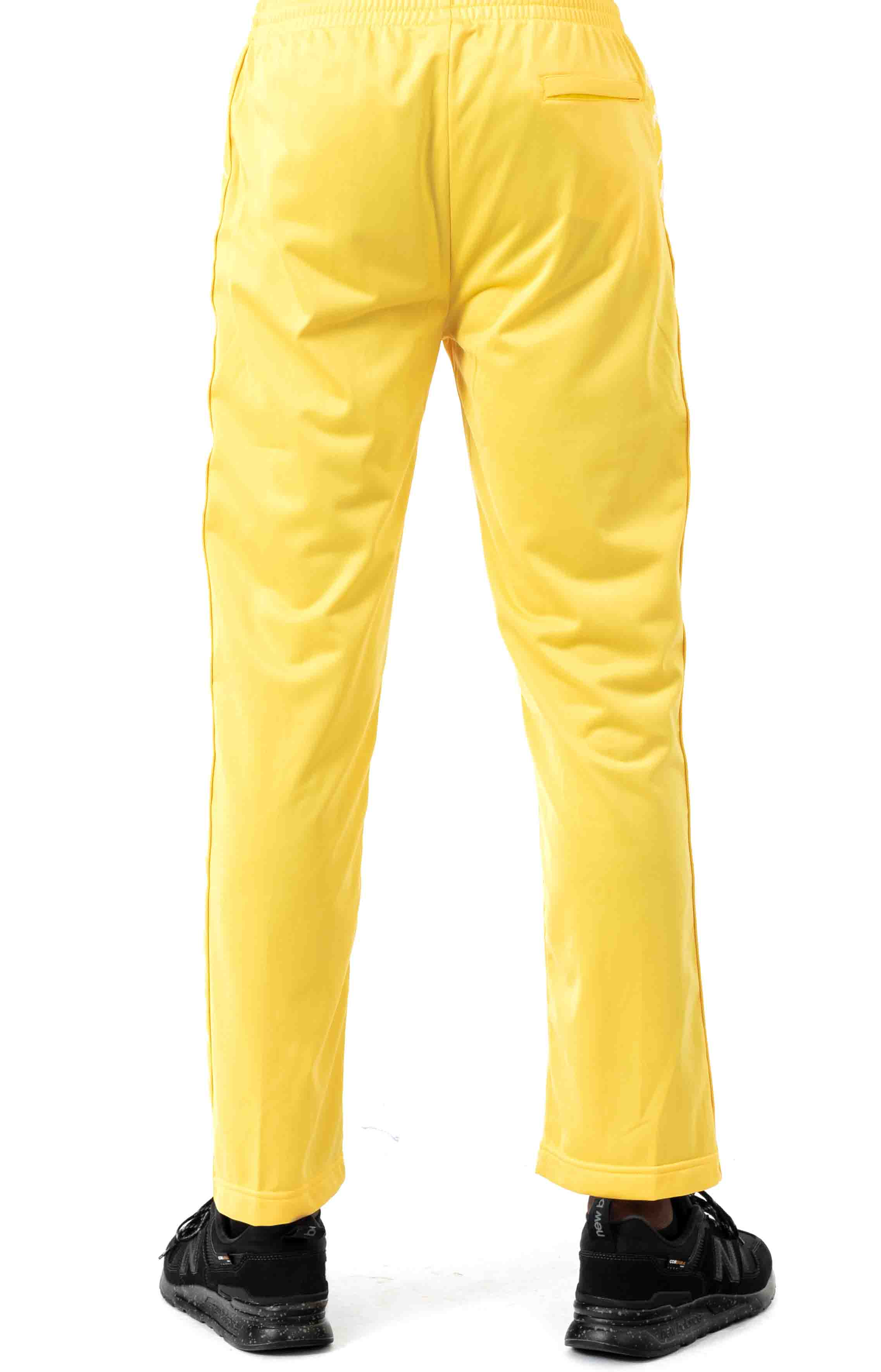 222 Banda Astoriazz Trackpant - Yellow/White 3