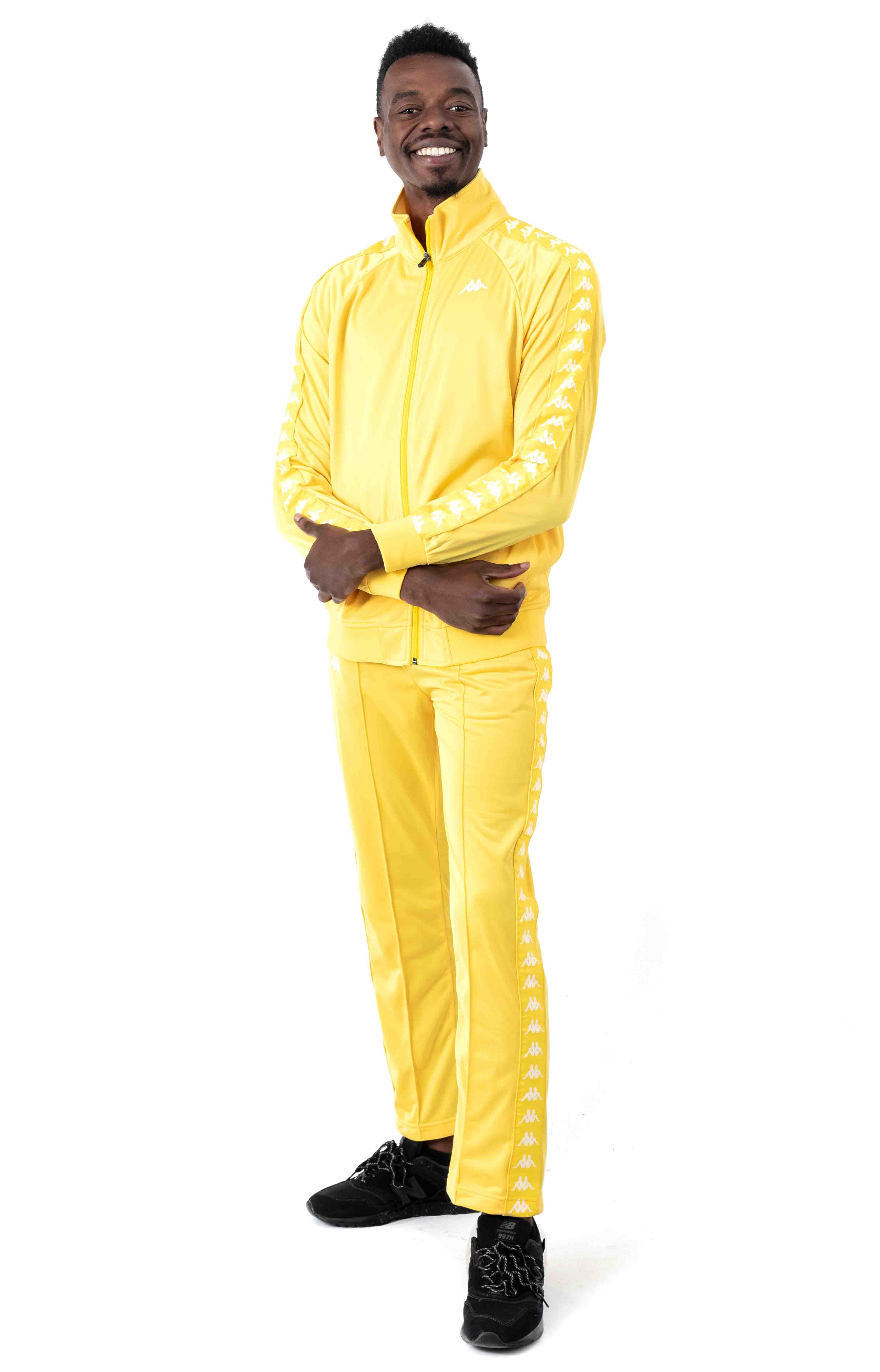 222 Banda Astoriazz Trackpant - Yellow/White 4