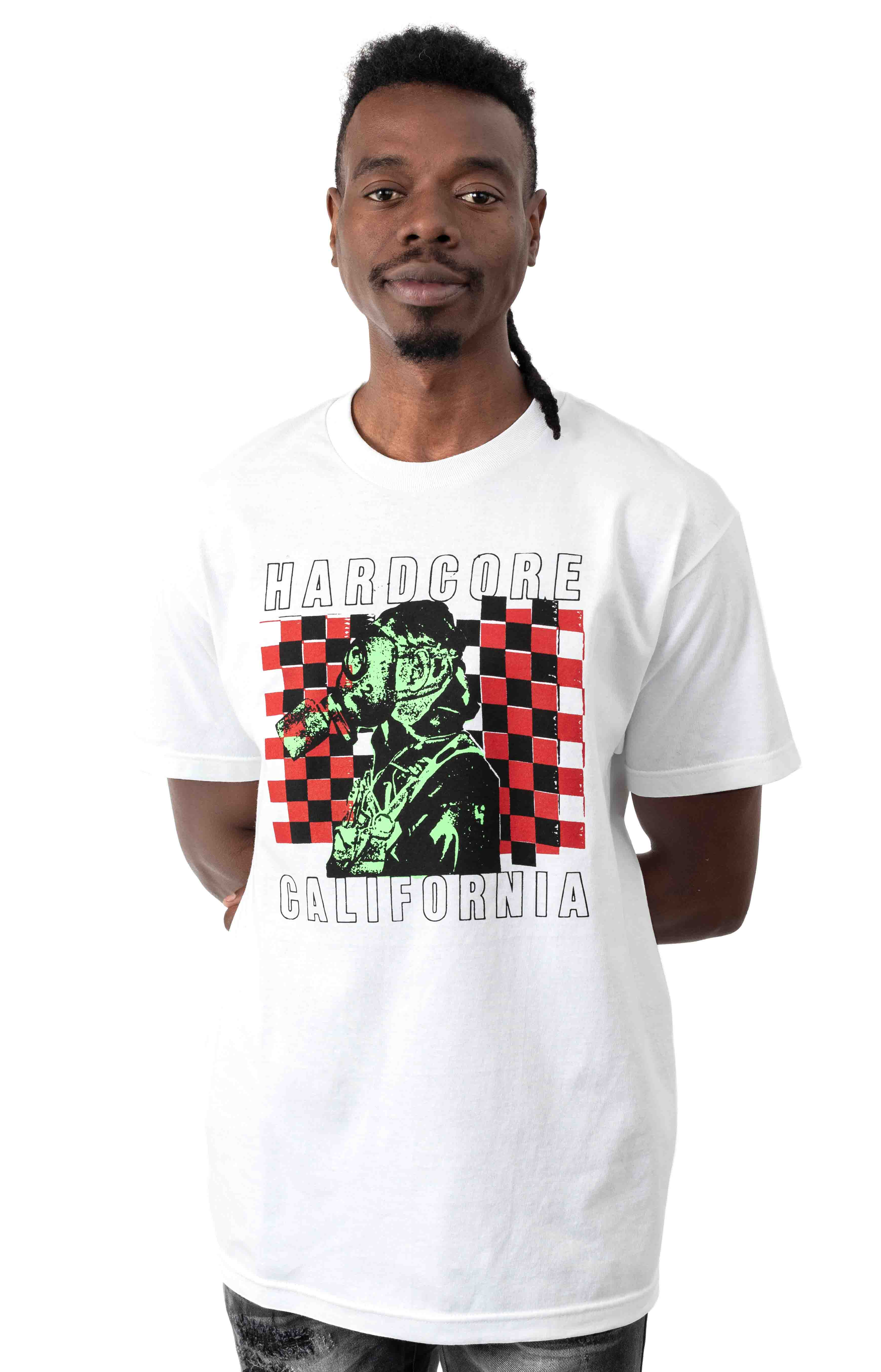 California T-Shirt - White  1