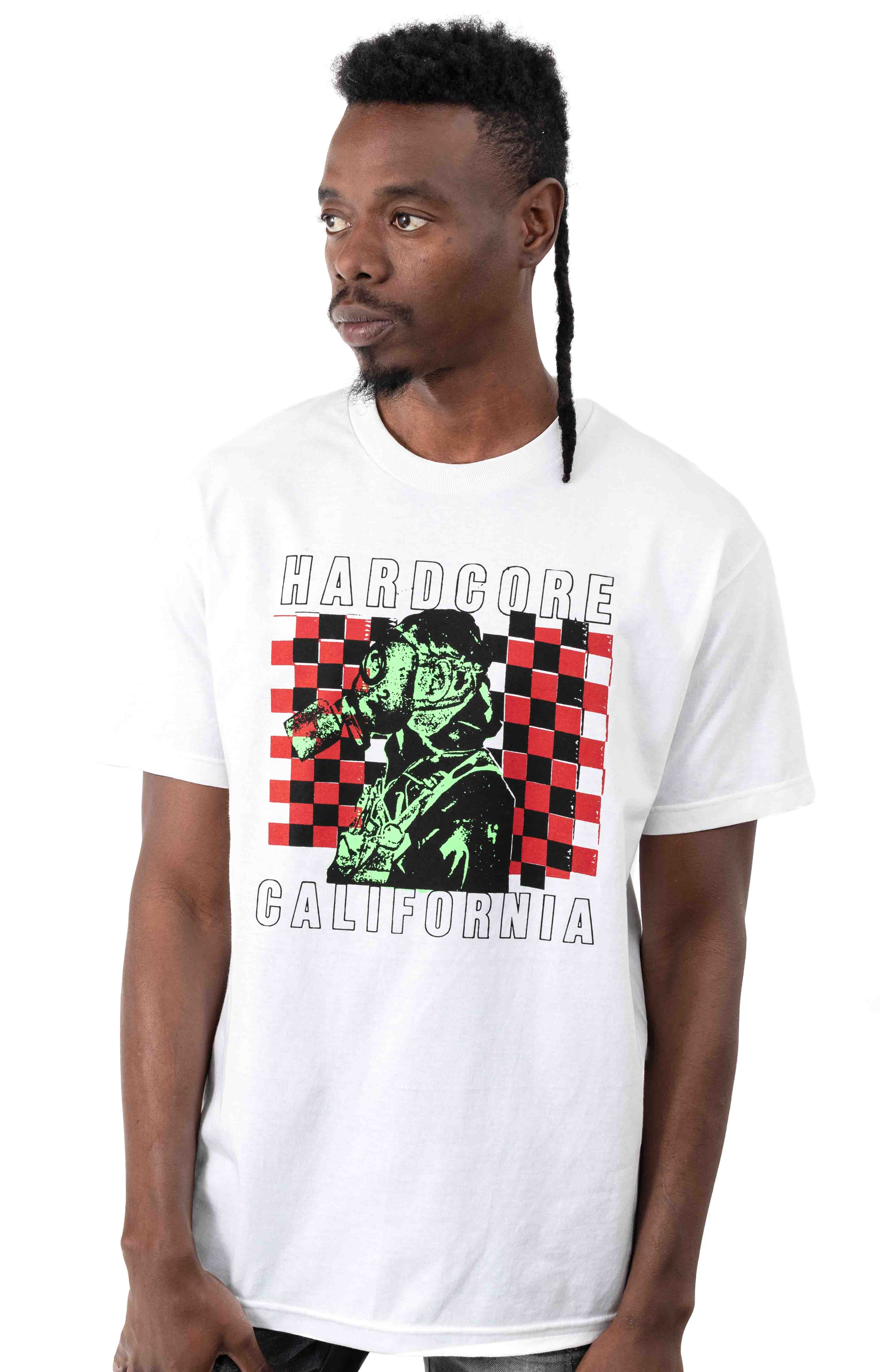 California T-Shirt - White  2