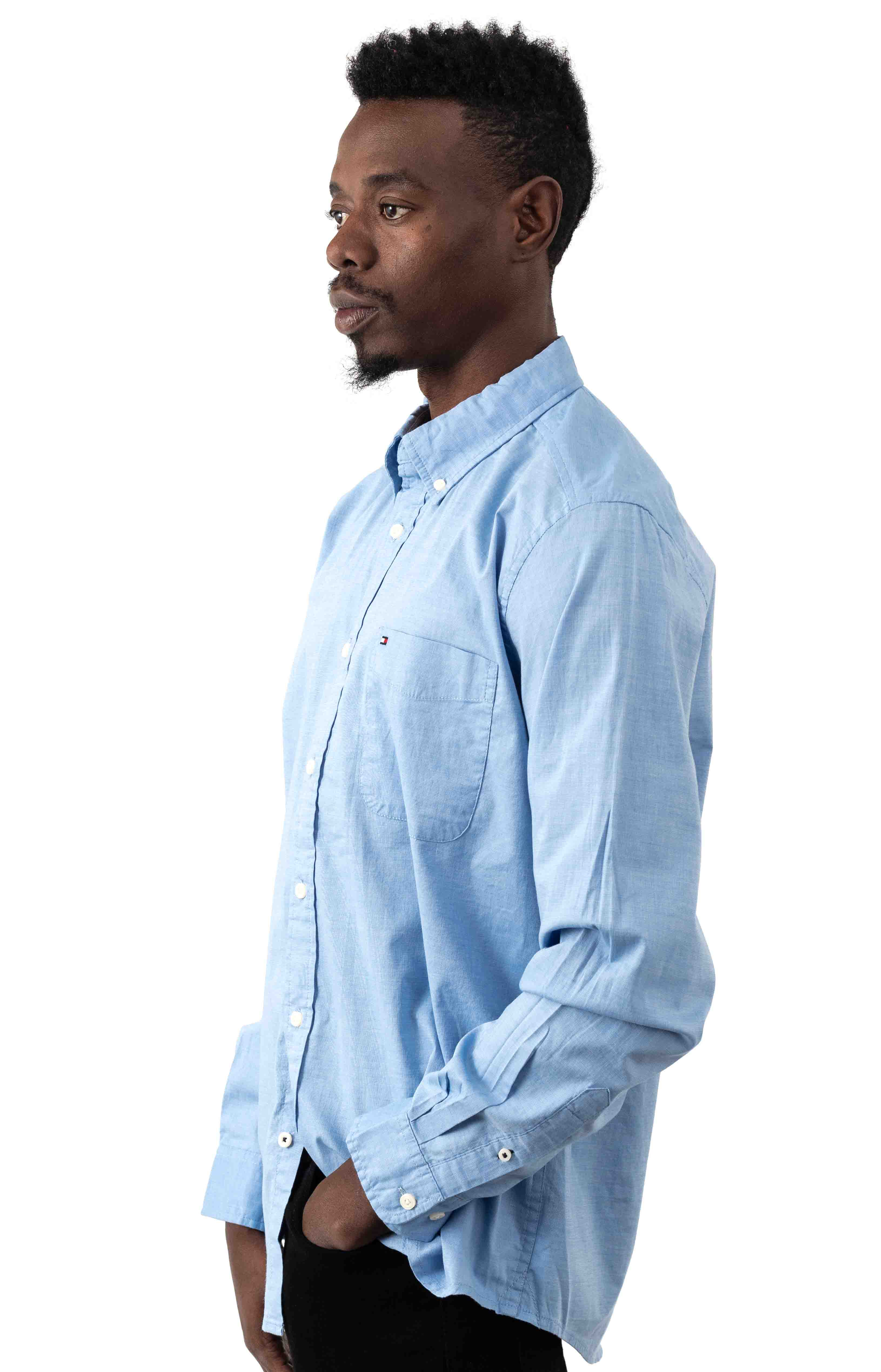 Classic Fit Essential Stretch Shirt - Collection Blue 2