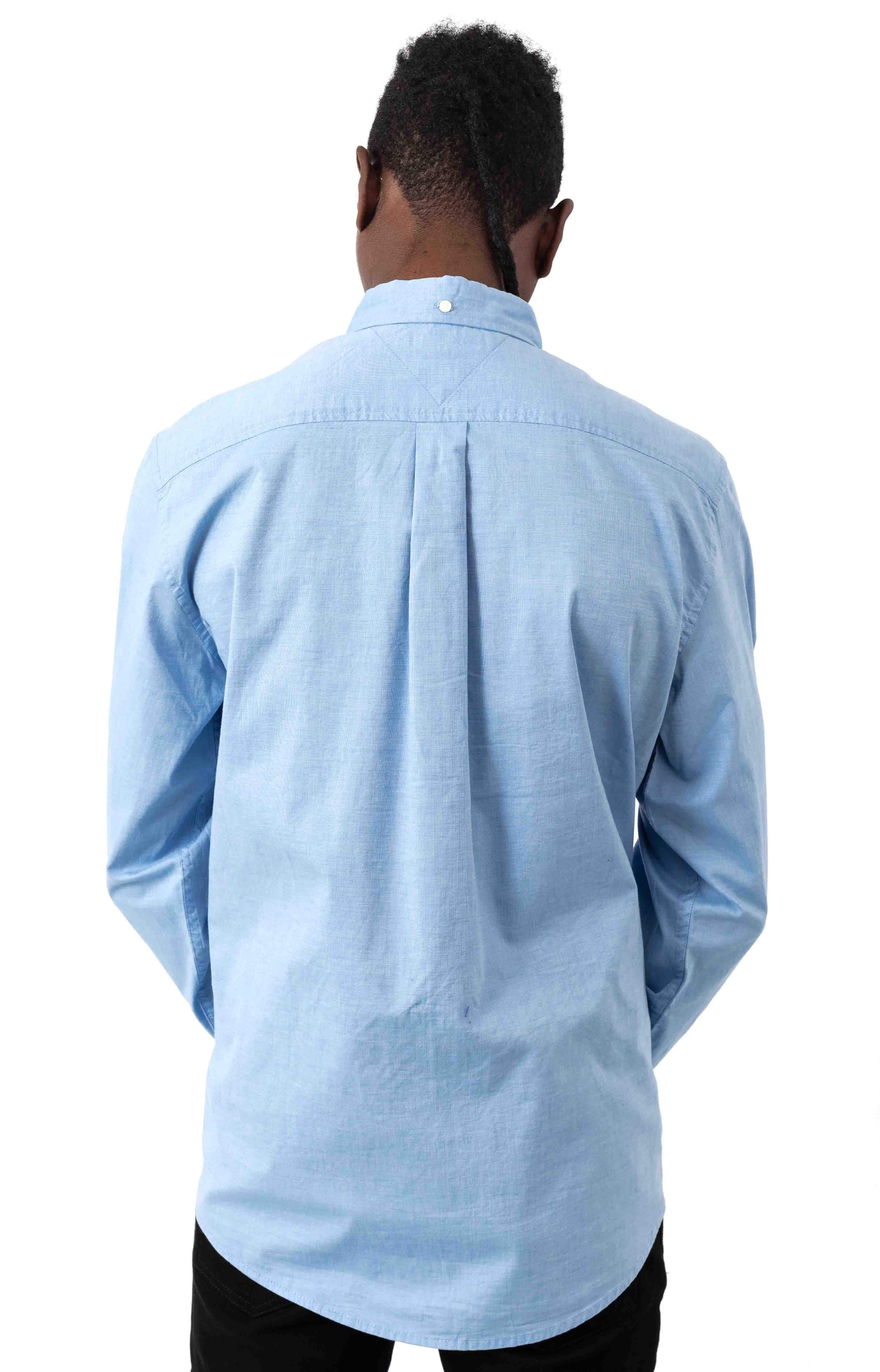 Classic Fit Essential Stretch Shirt - Collection Blue 3