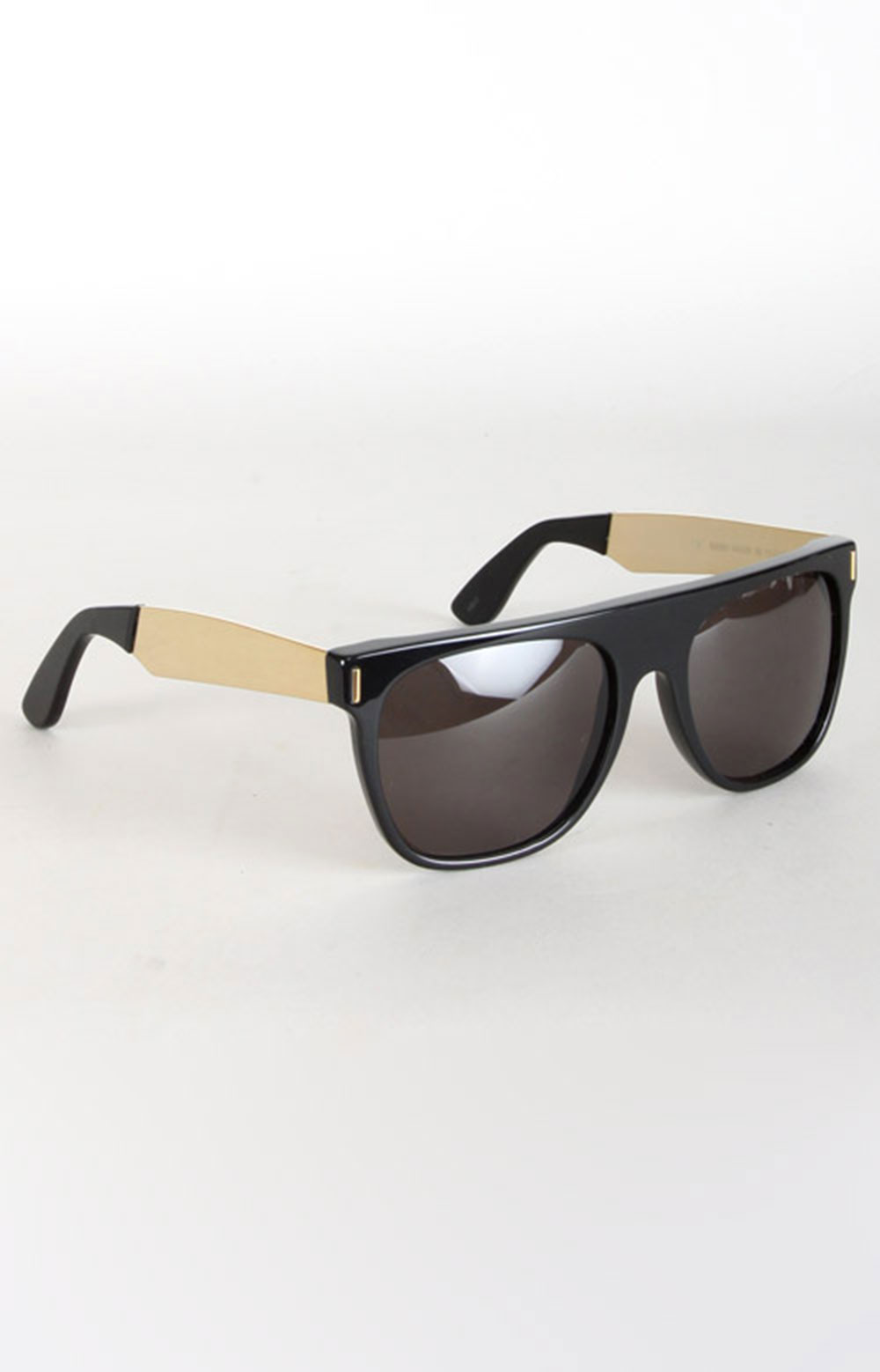 180 Francis Flat Top Sunglasses - Black/Gold