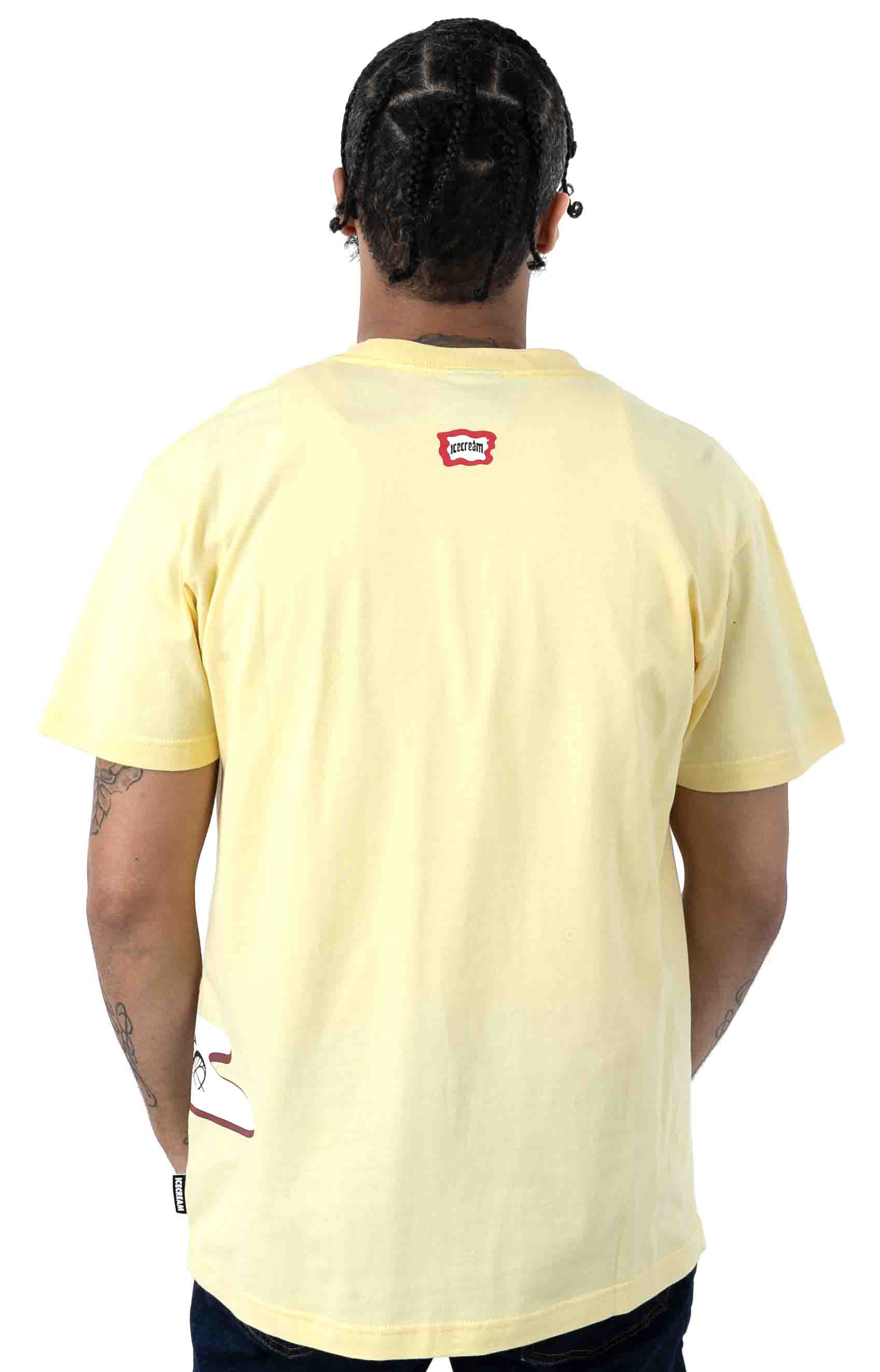 Pudwill T-Shirt - Mellow Yellow 3