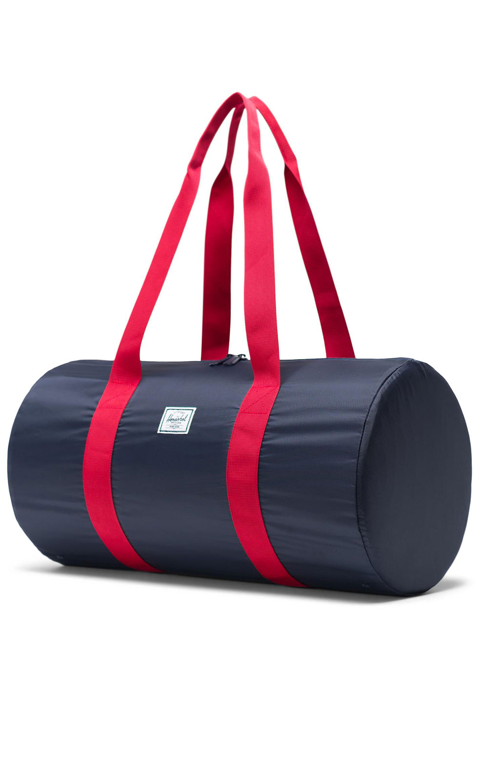 Packable Duffle Bag - Navy/Red 2
