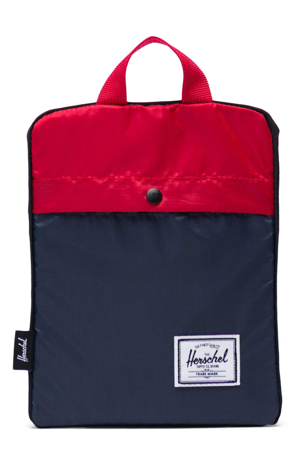 Packable Duffle Bag - Navy/Red 3
