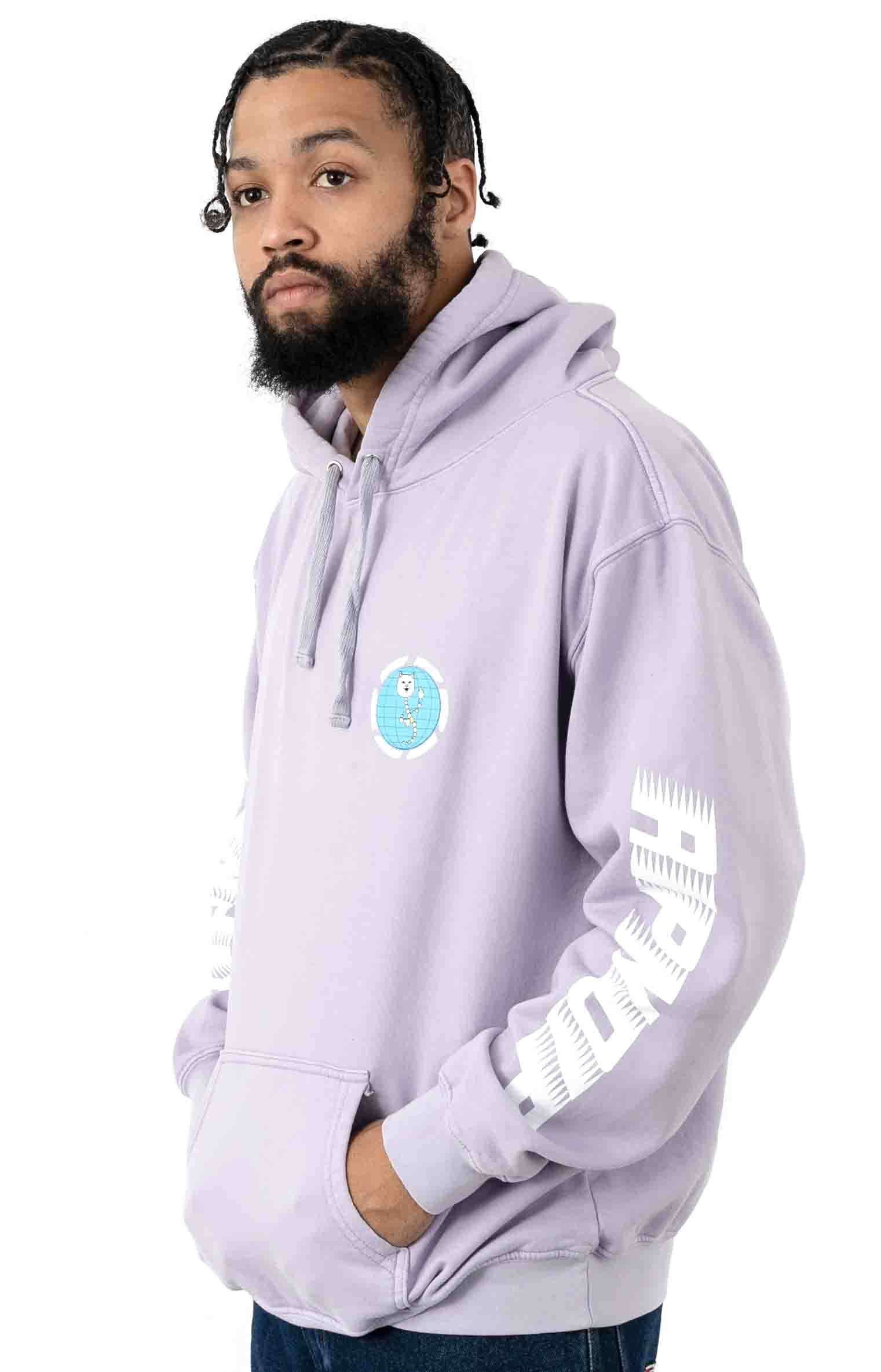 D.N.A. Pullover Hoodie - Lavender Mineral Wash 3