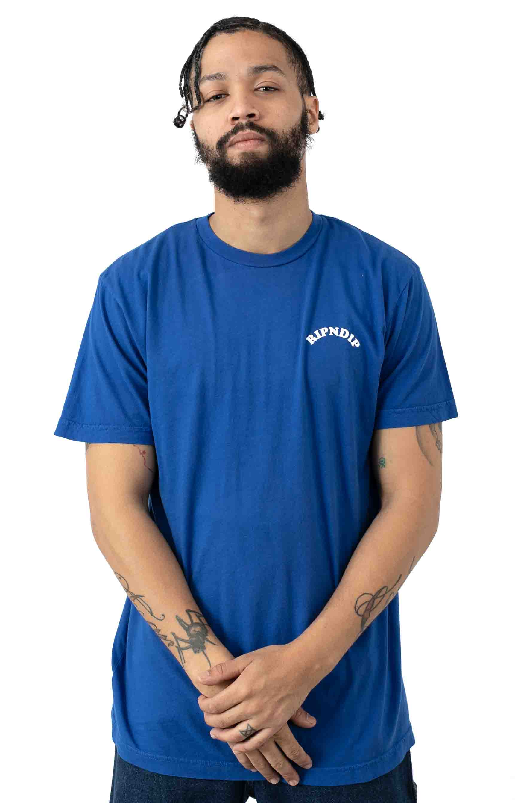 Praise T-Shirt - Royal Blue 2