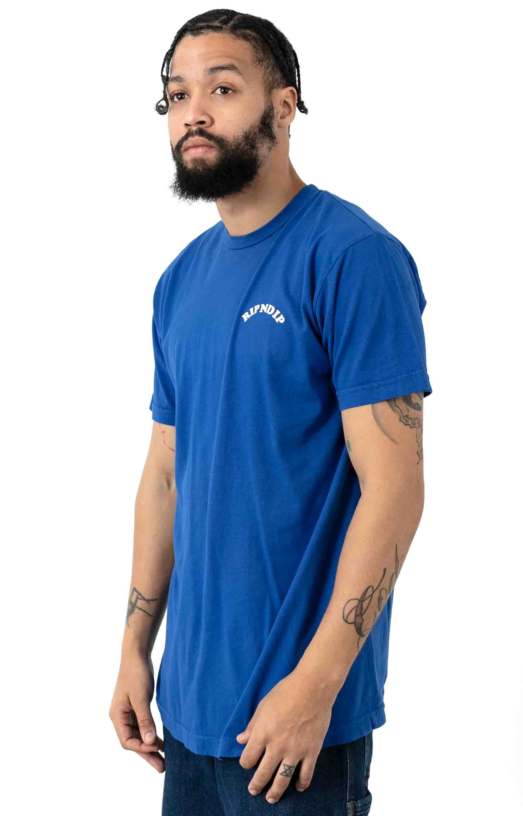 Praise T-Shirt - Royal Blue 3