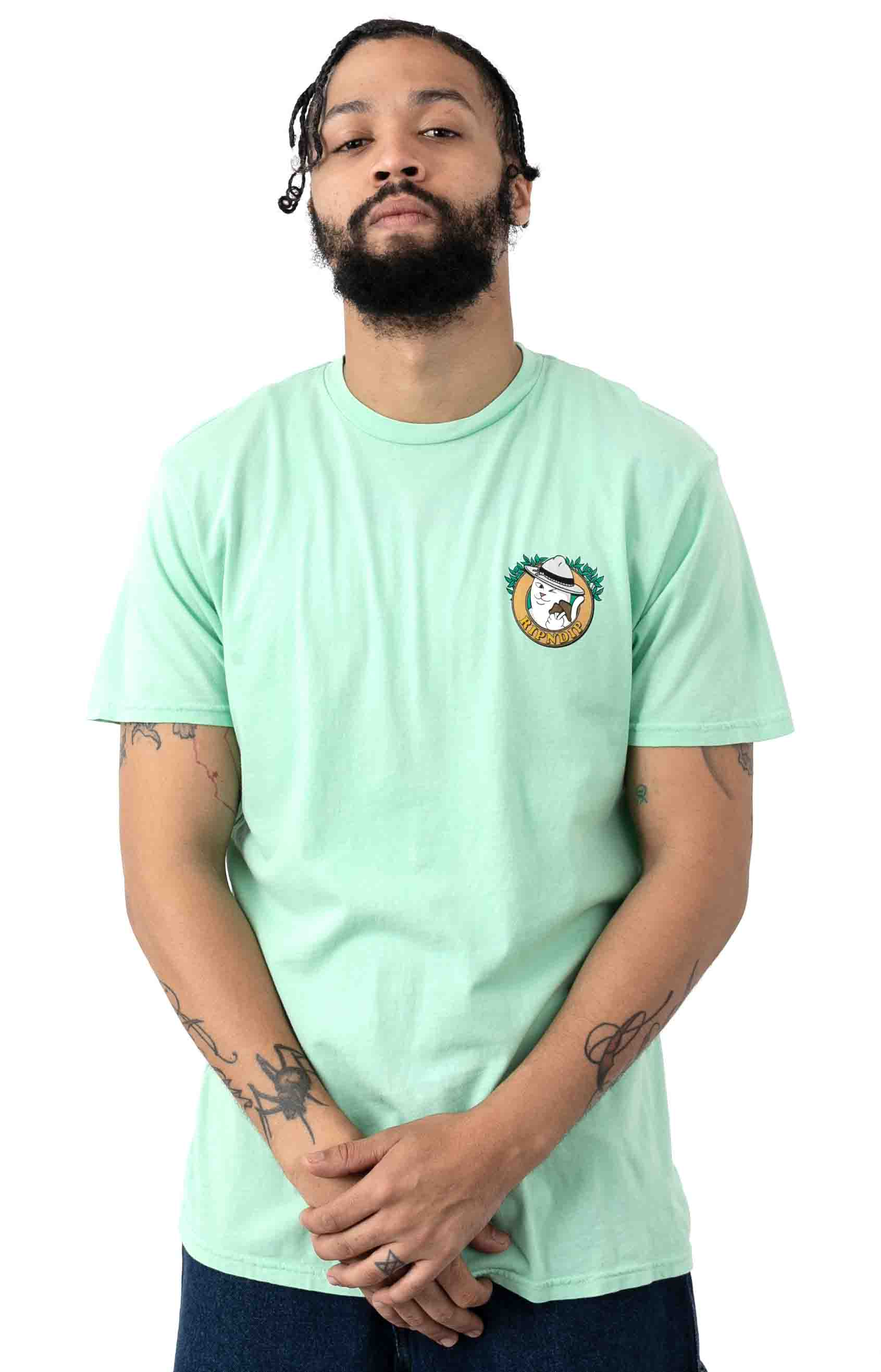 Hiker Nerm T-Shirt - Mint 2