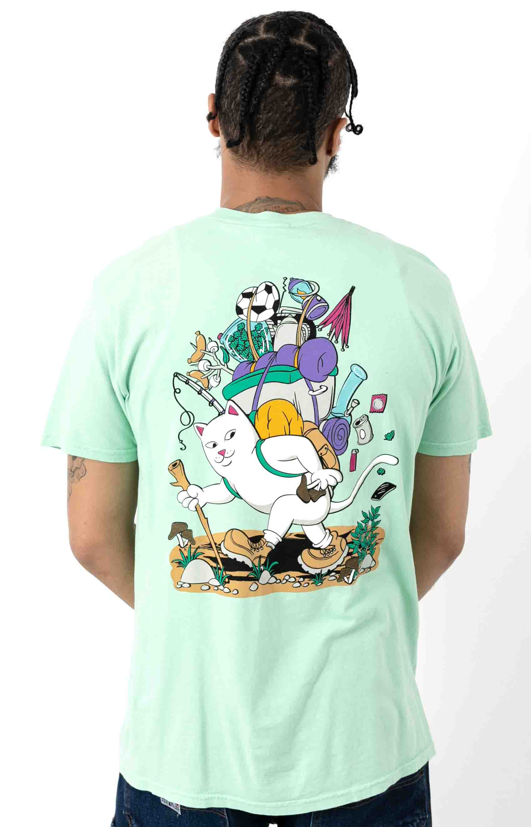 Hiker Nerm T-Shirt - Mint
