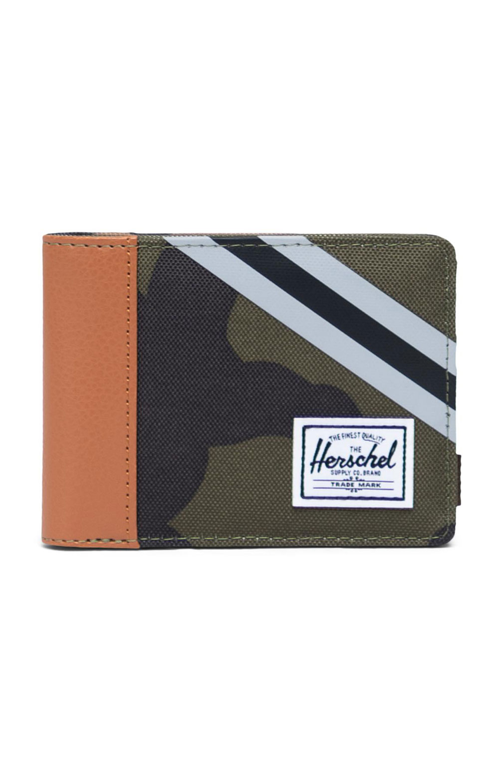Roy Reflective Wallet - Woodland Camo/Stripe Vapor/Black