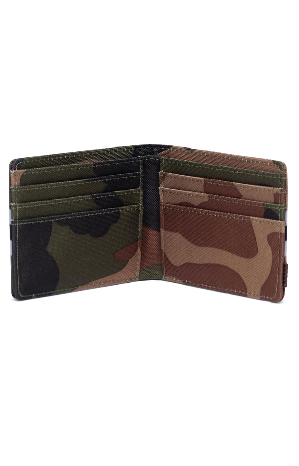 Roy Reflective Wallet - Woodland Camo/Stripe Vapor/Black 2