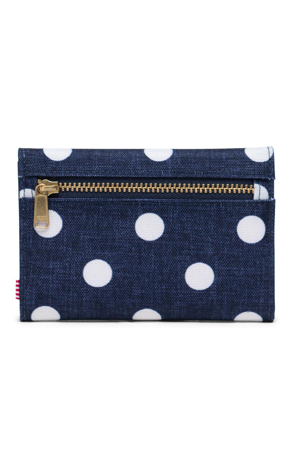Orion Wallet - Polka Dot Crosshatch/Peacoat Small/Tropical Hibiscus 3
