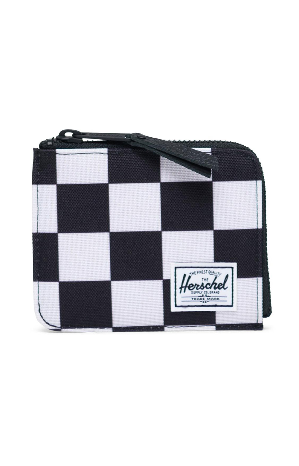 Jack Wallet - Checker Black/White