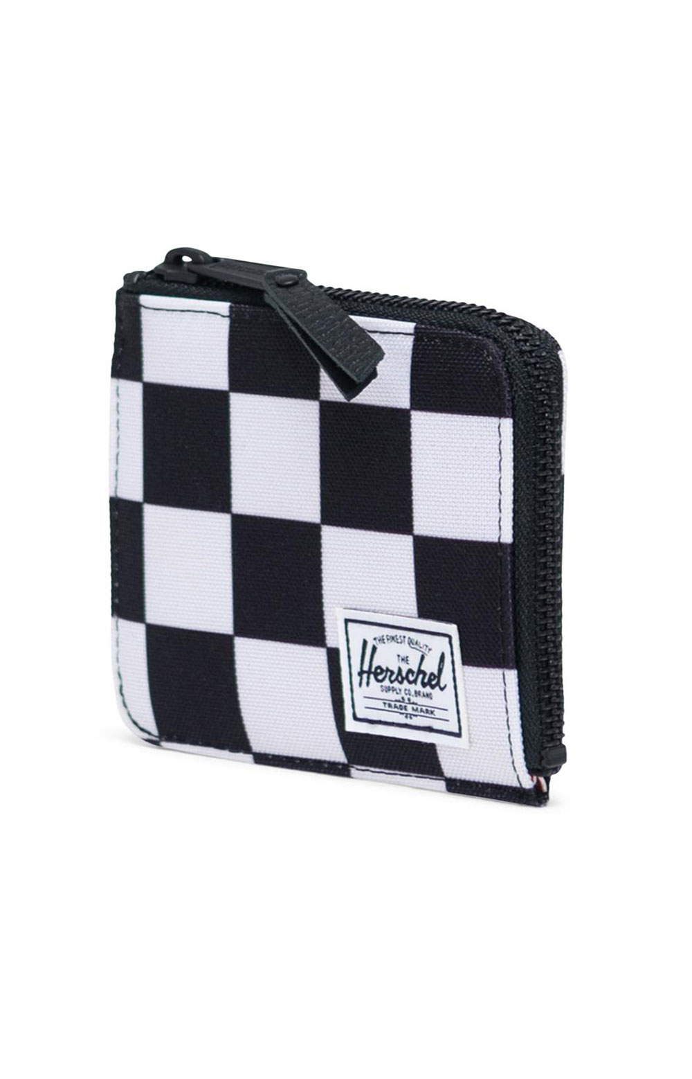 Jack Wallet - Checker Black/White  2