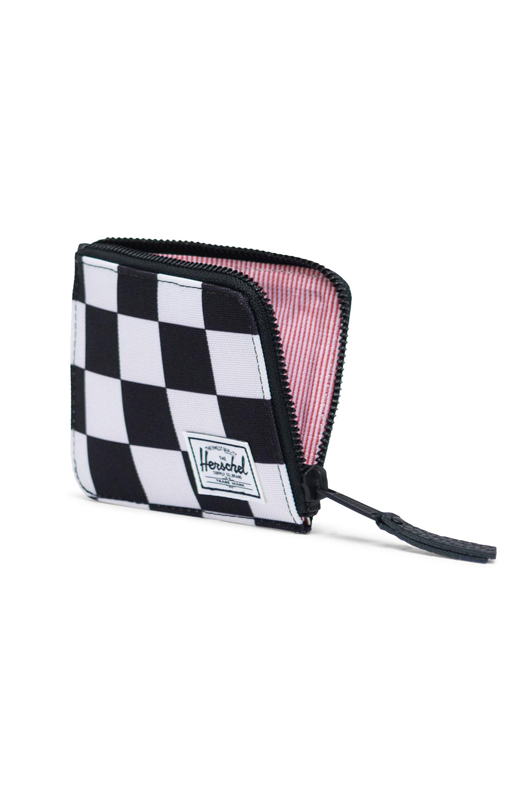Jack Wallet - Checker Black/White  3