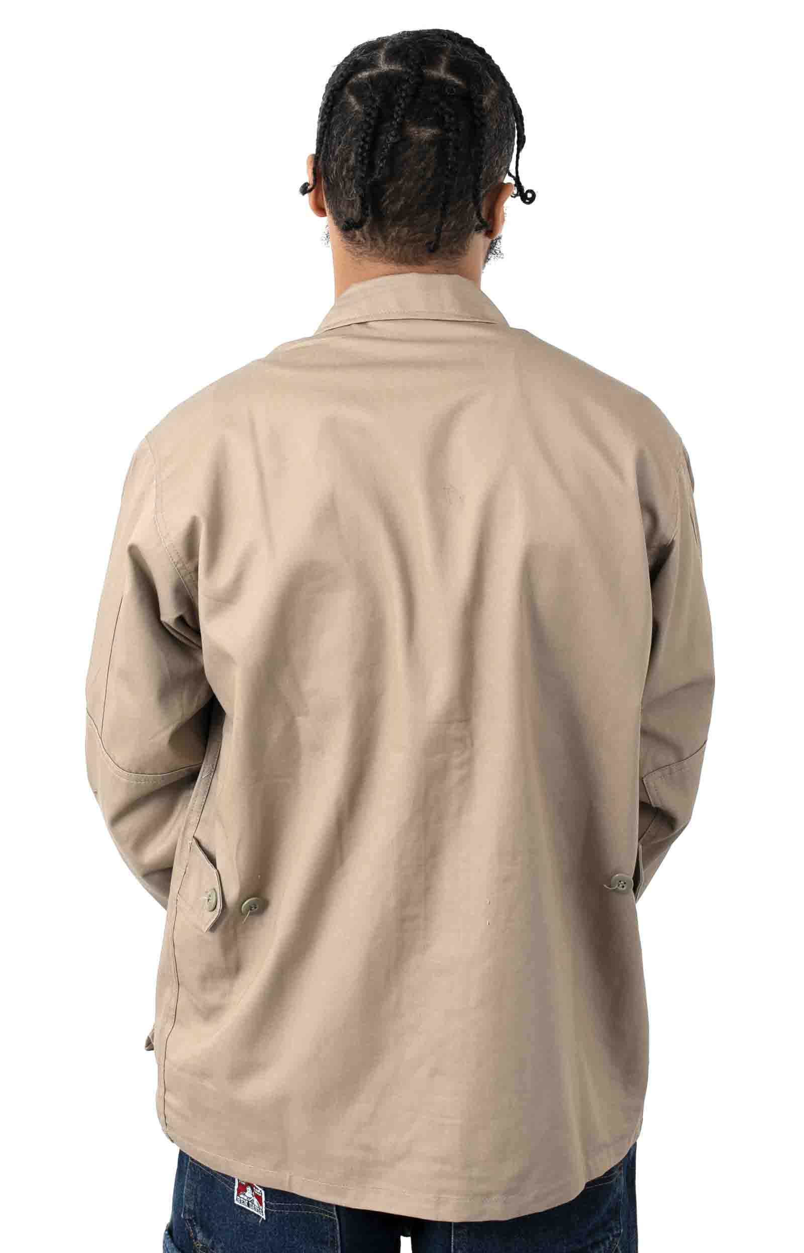 (7900) Rotcho Poly/Cotton Twill Solid BDU Shirt - Khaki  3