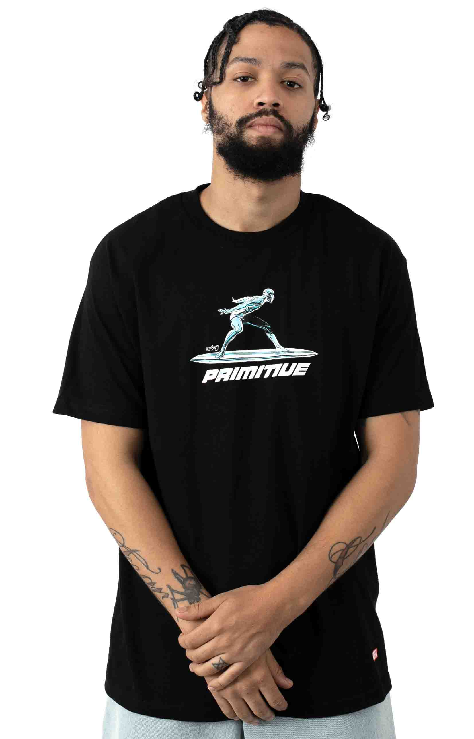 Silver Surfer T-Shirt - Black