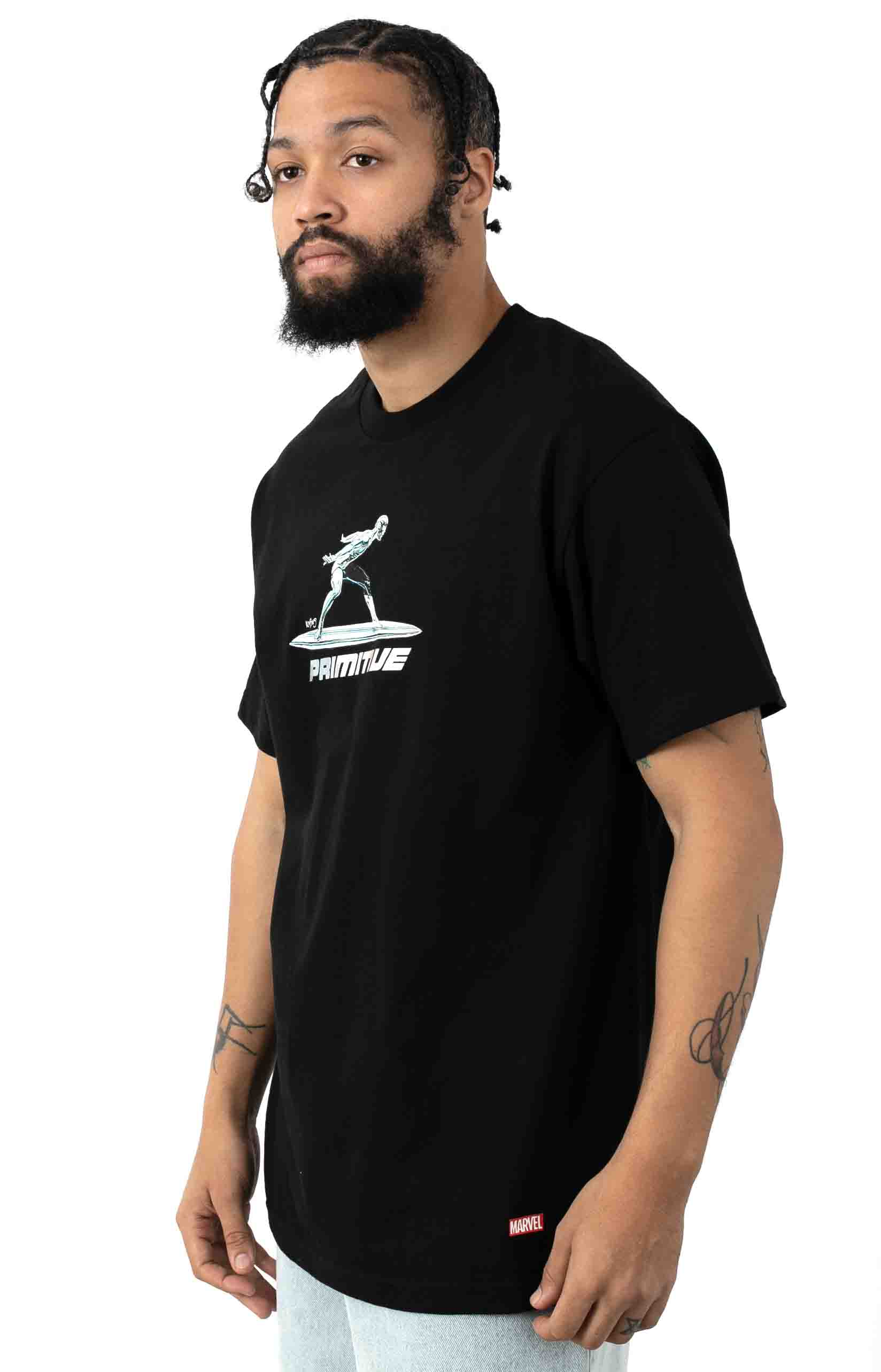 Silver Surfer T-Shirt - Black 2