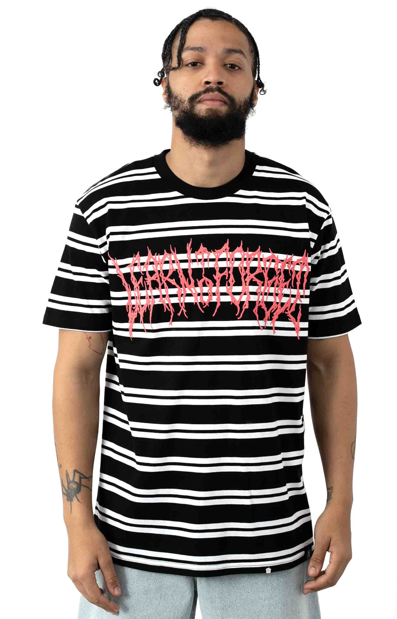Death Metal Stripe Premium T-Shirt