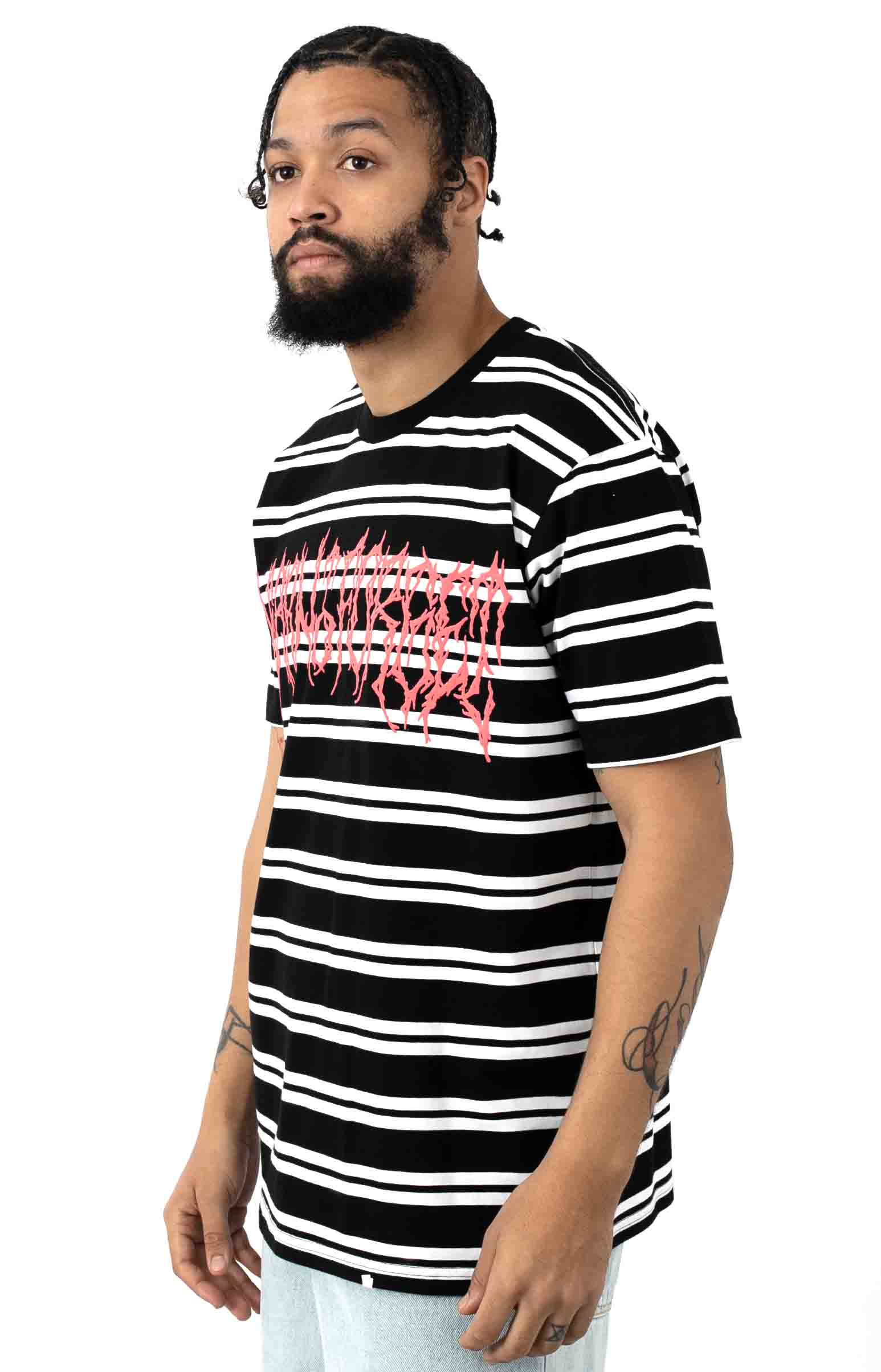 Death Metal Stripe Premium T-Shirt  2