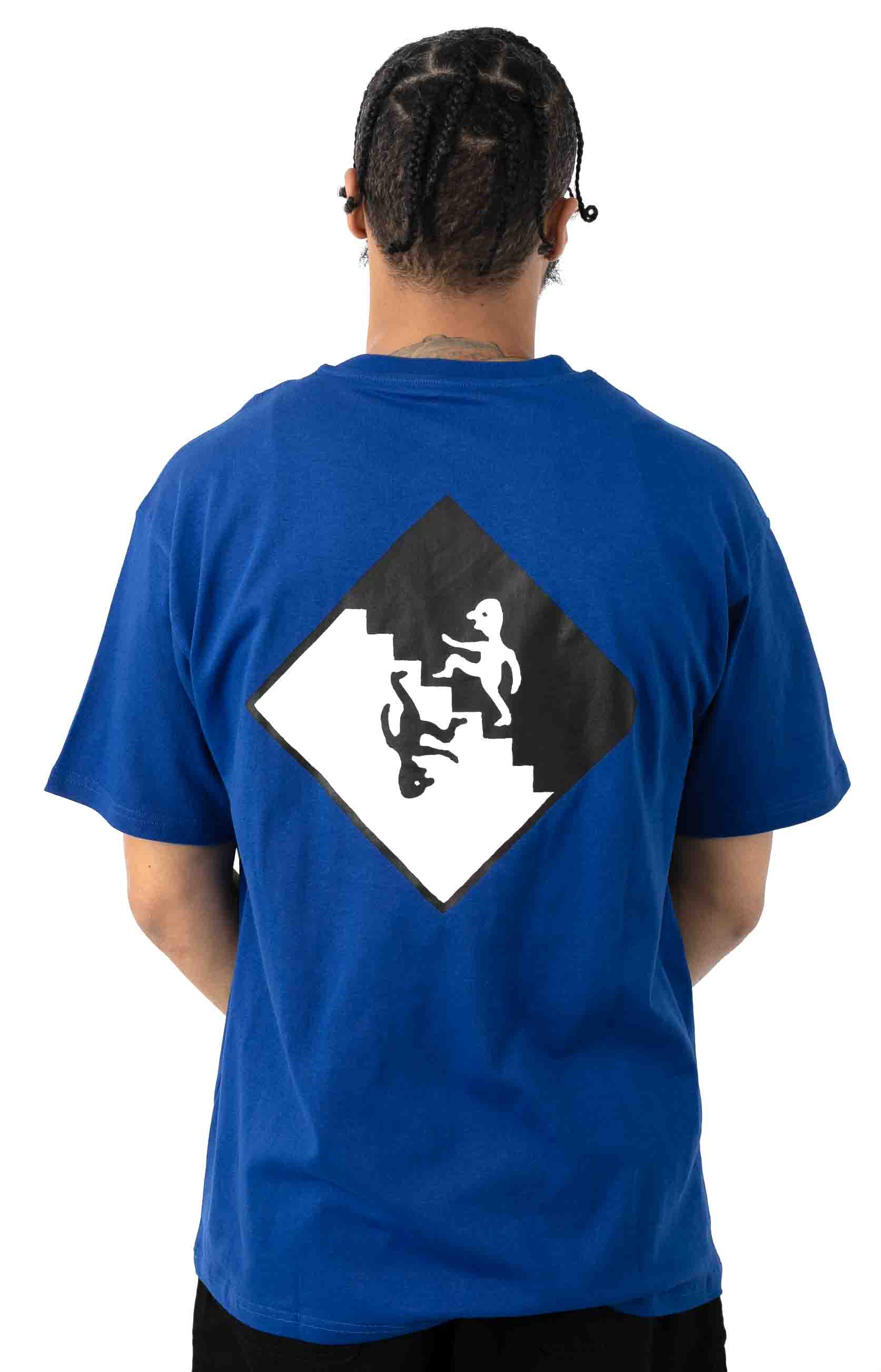 Staircase T-Shirt - Egyptian Blue 3