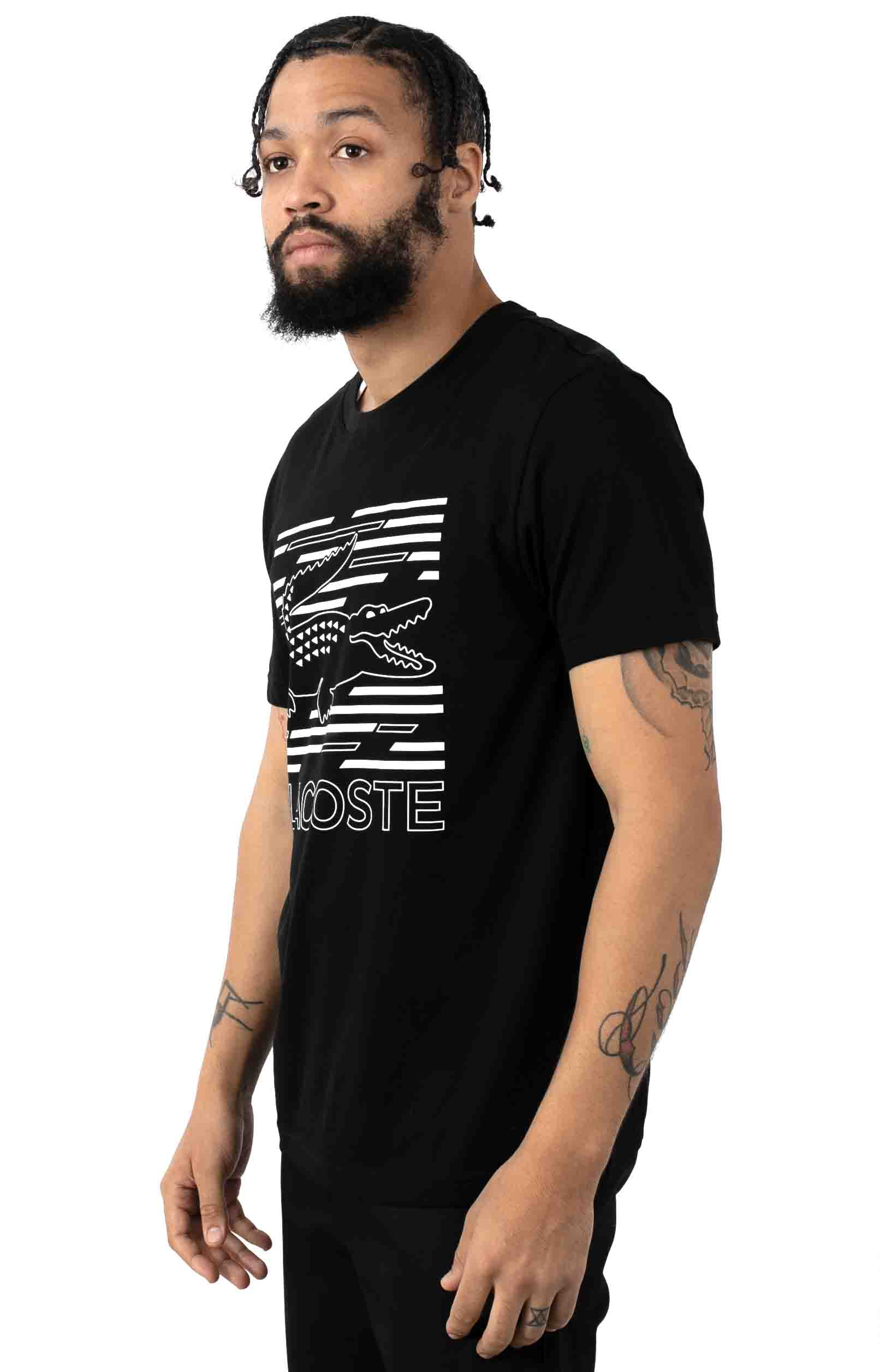 SPORT Ultra-Dry Graphic T-Shirt - Black 2