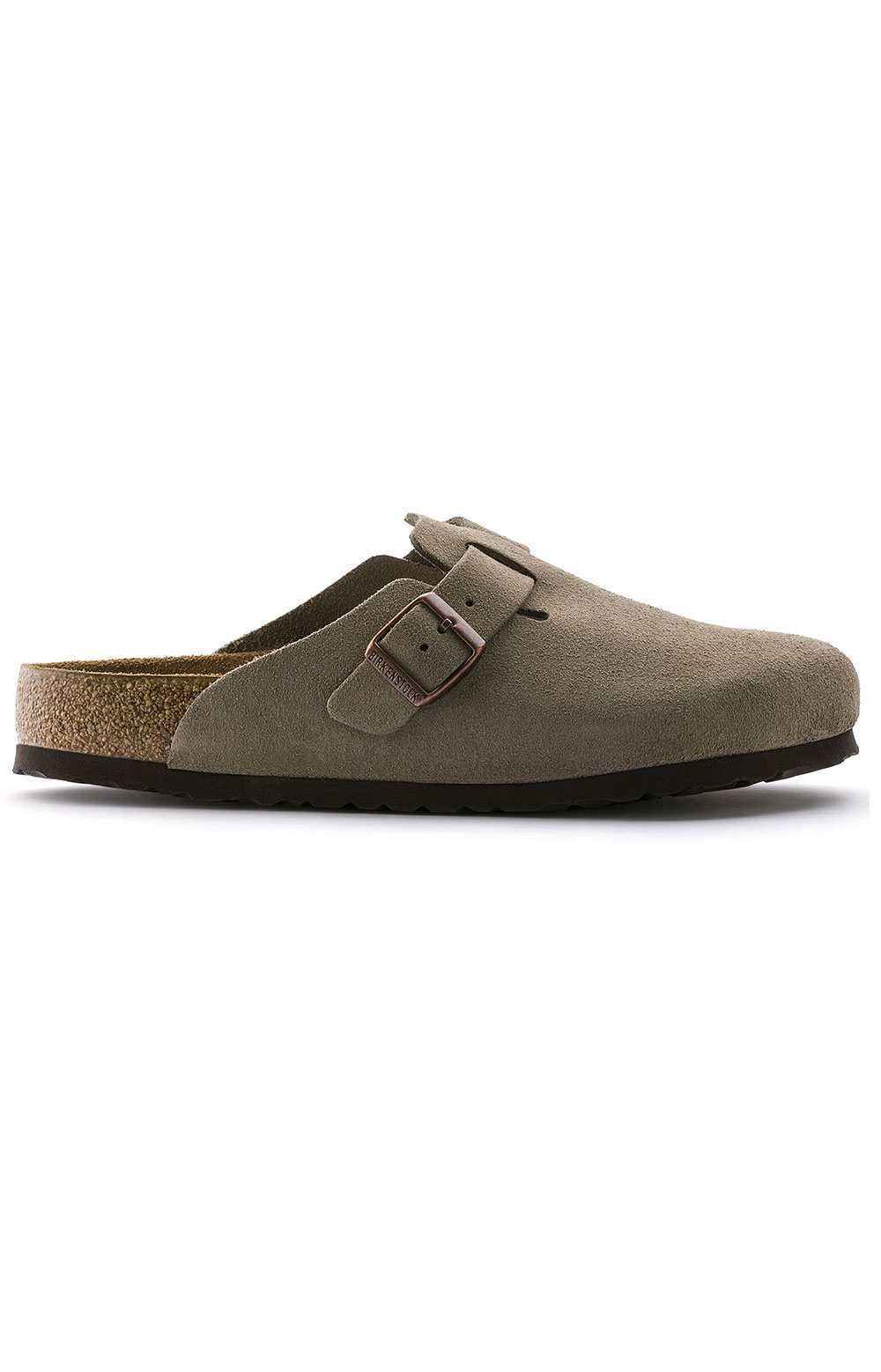 (0560771)Boston Soft Footbed Sandals - Taupe Suede  4