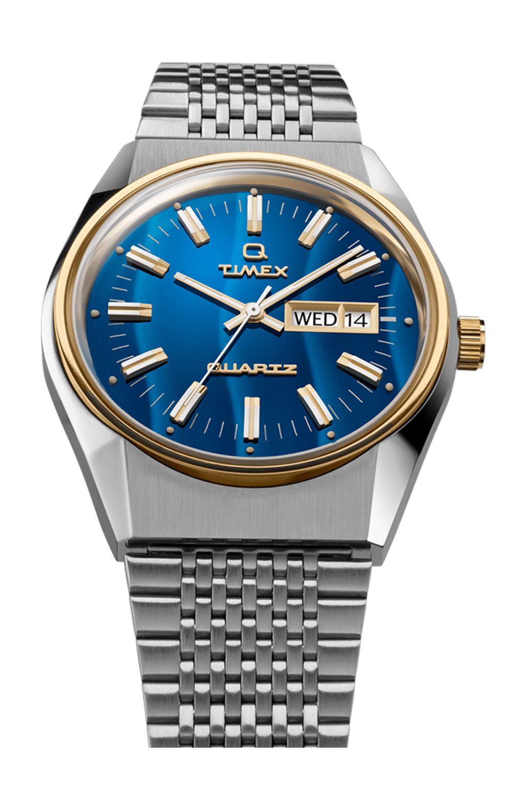 (TW2T80800ZV) Q Timex Reissue Falcon Eye 38mm Stainless Steel Bracelet Watch - Stainless Stee 5