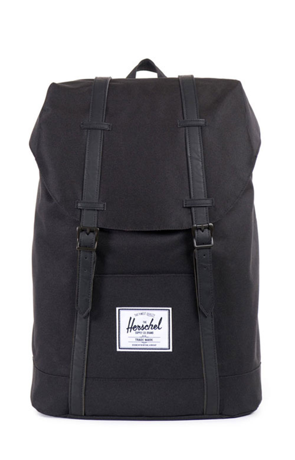Retreat Backpack - Black/Black PU