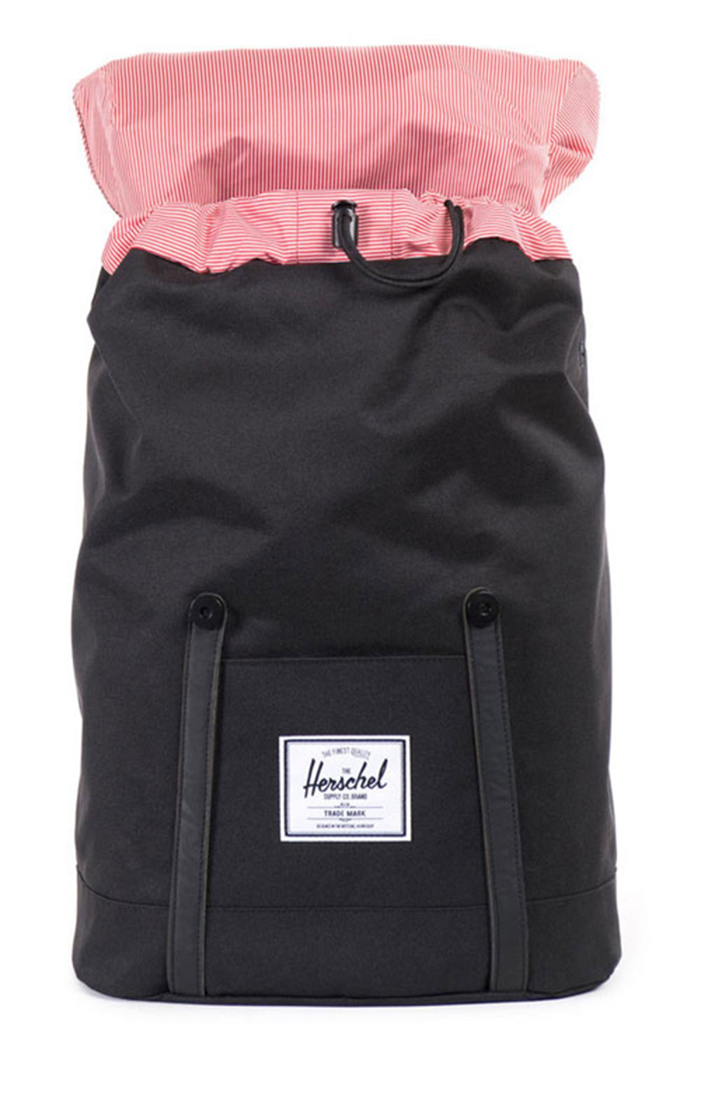 Retreat Backpack - Black/Black PU 2
