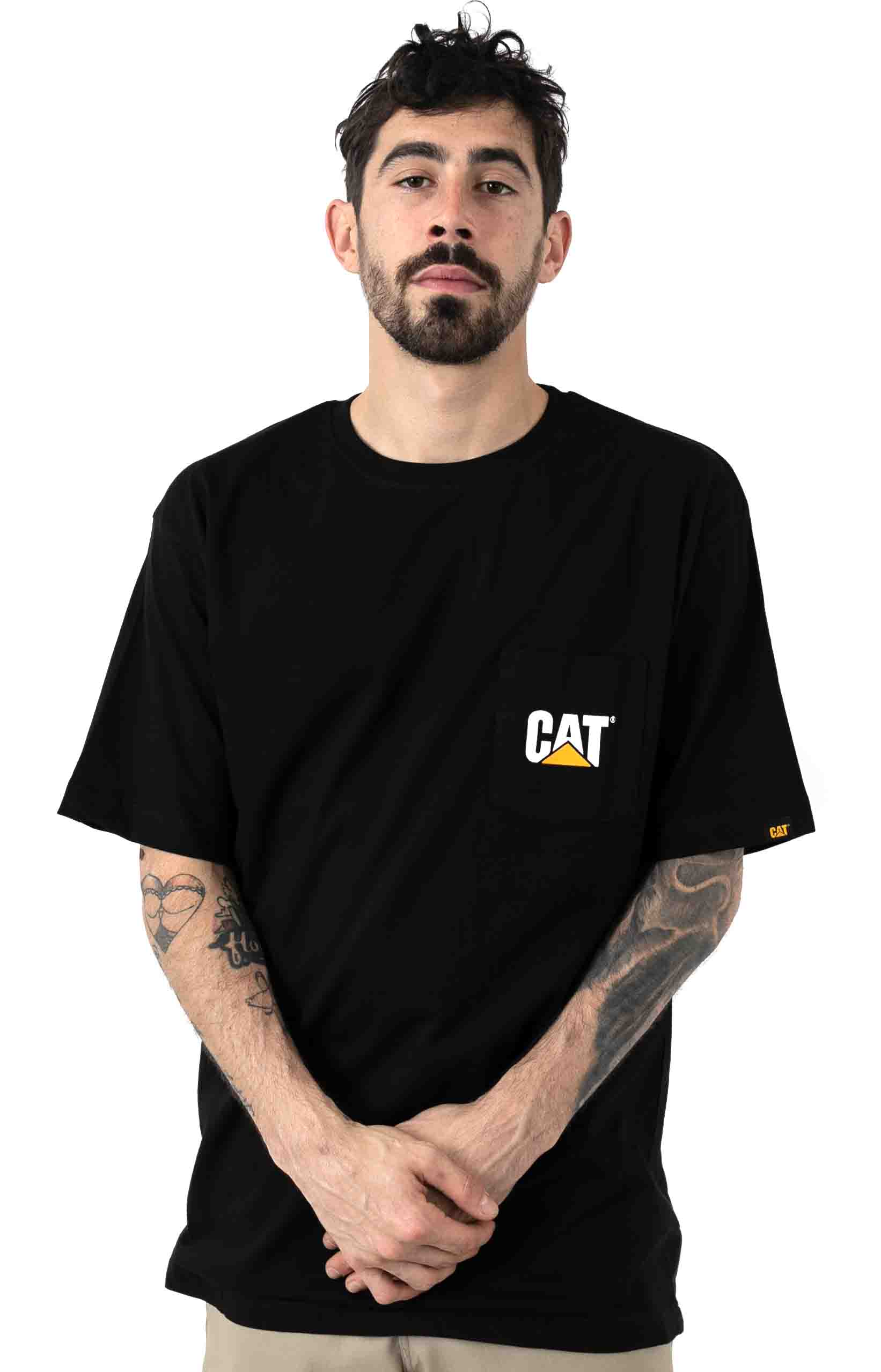 Logo Pocket T-Shirt - Black