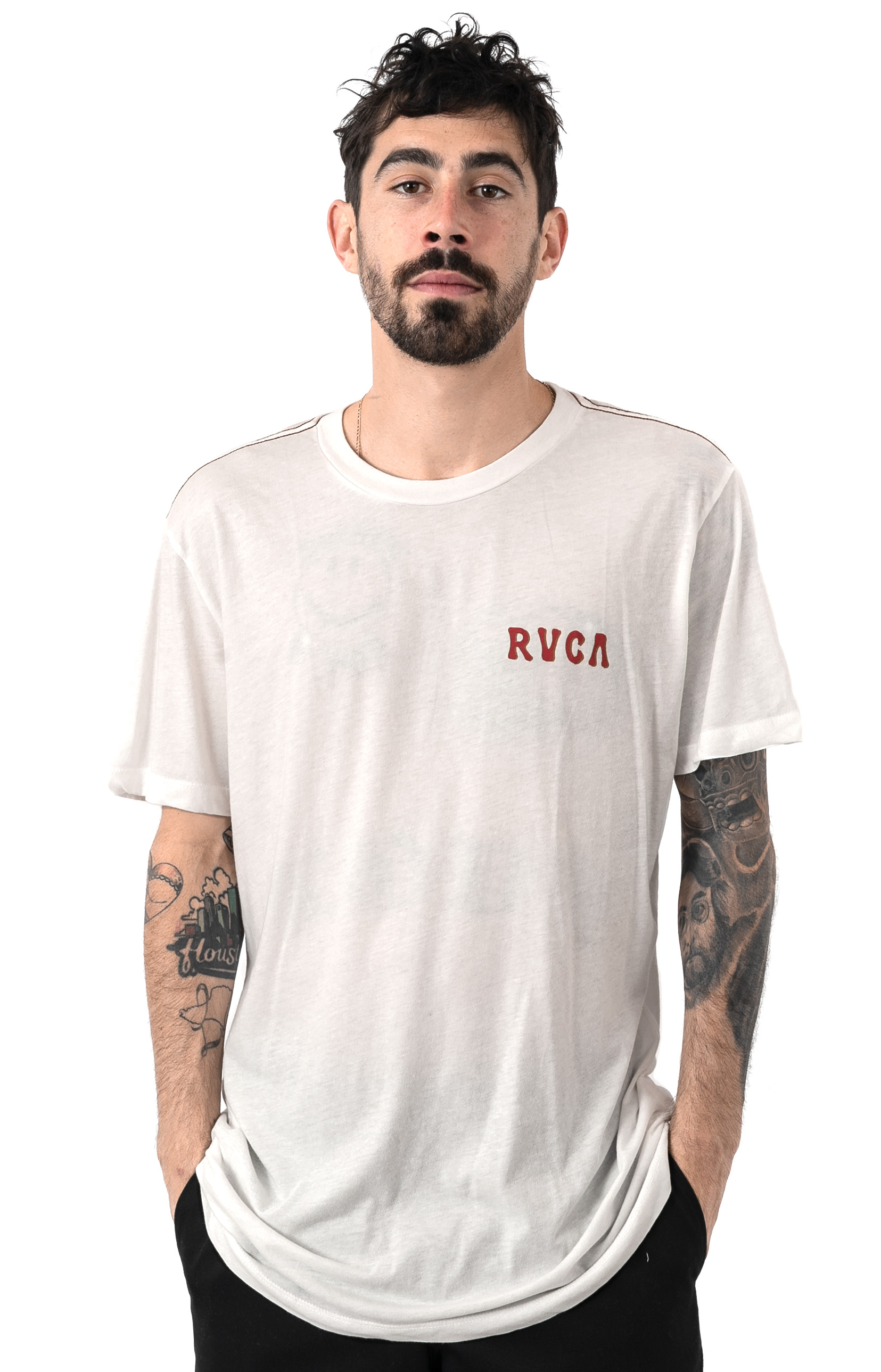 En Bloom T-Shirt - Antique White  2