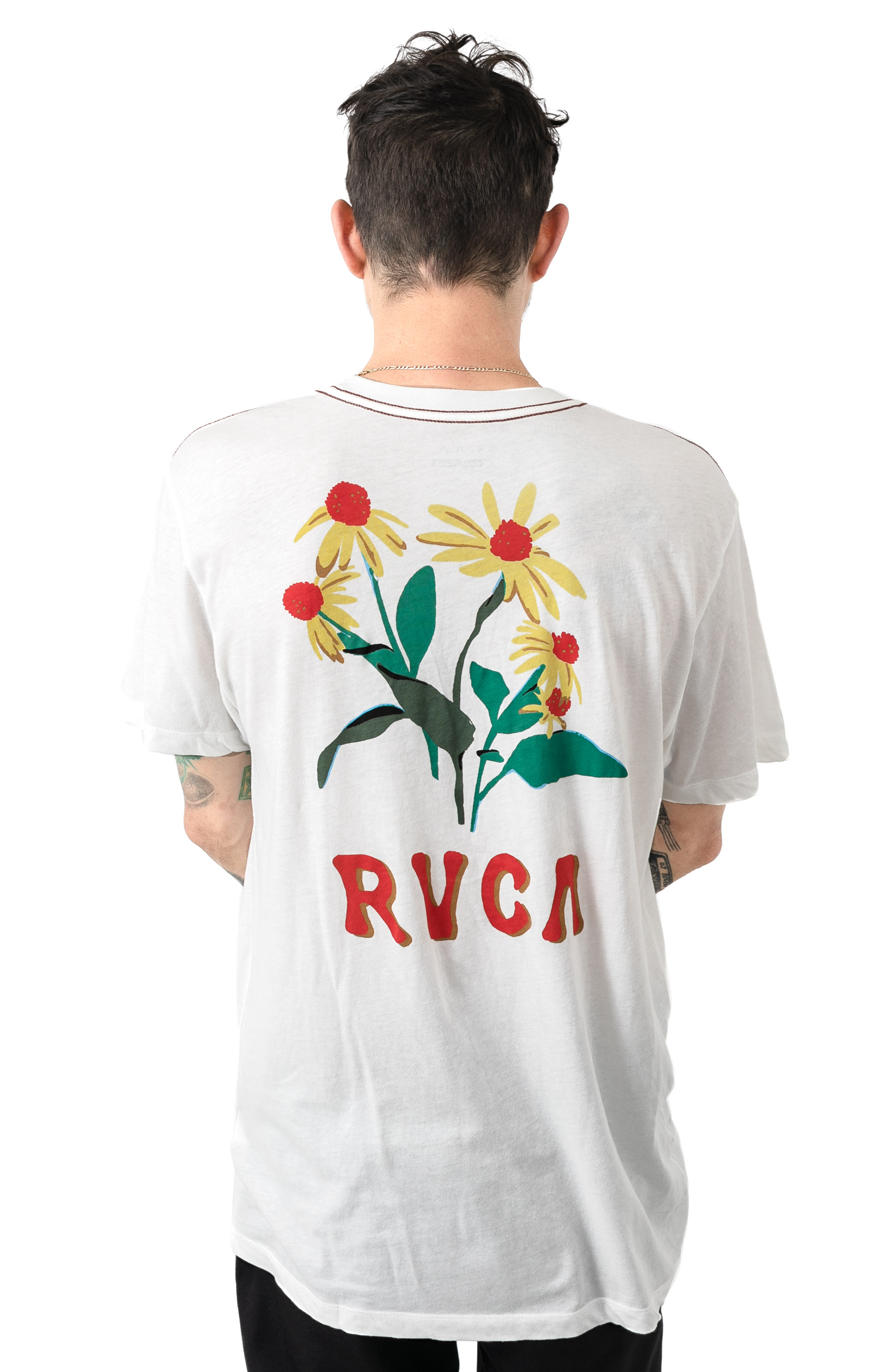 En Bloom T-Shirt - Antique White