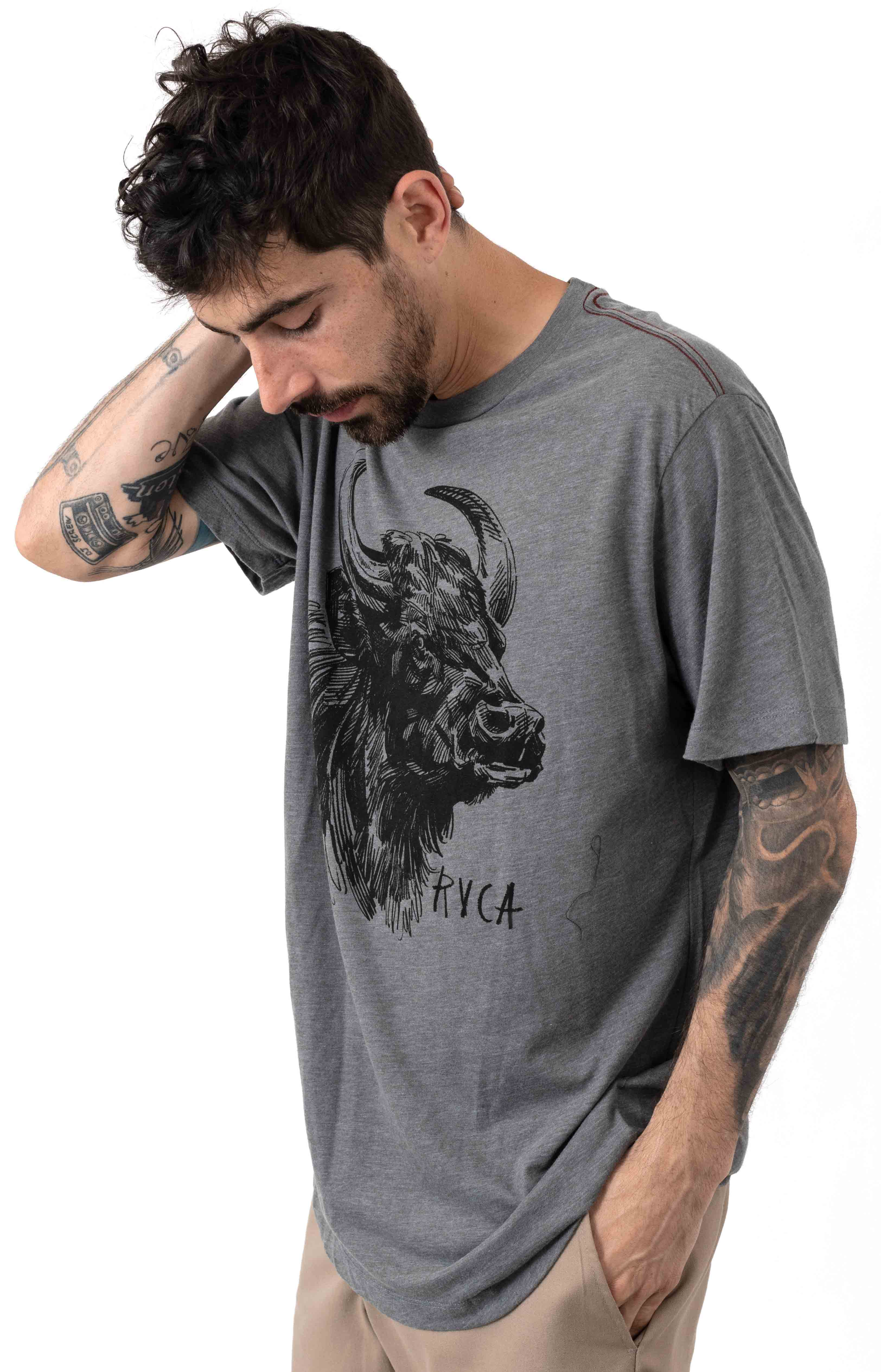 Water Buffalo T-Shirt - Smoke  2