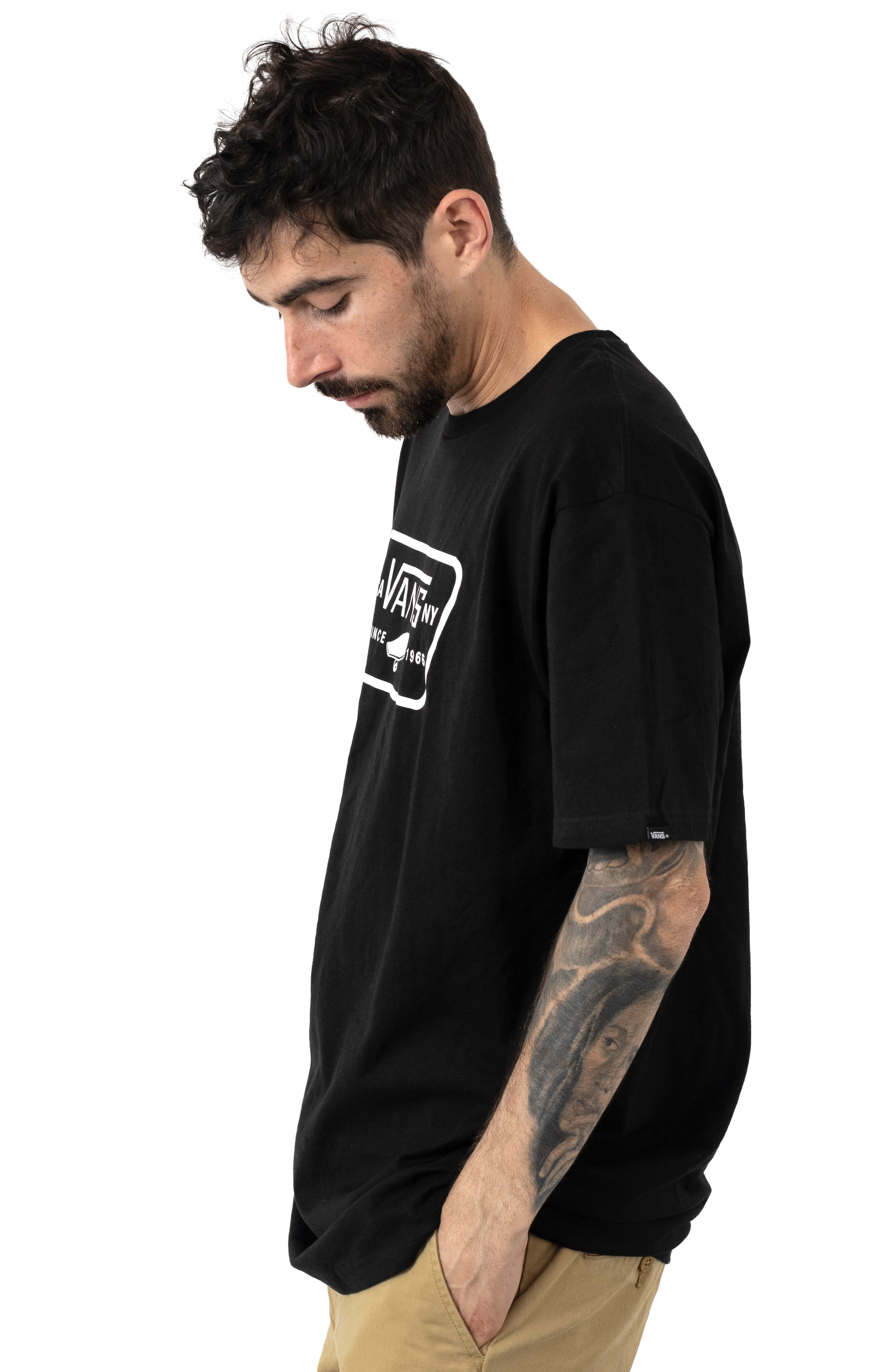 Full Patch T-Shirt - Black/White 2