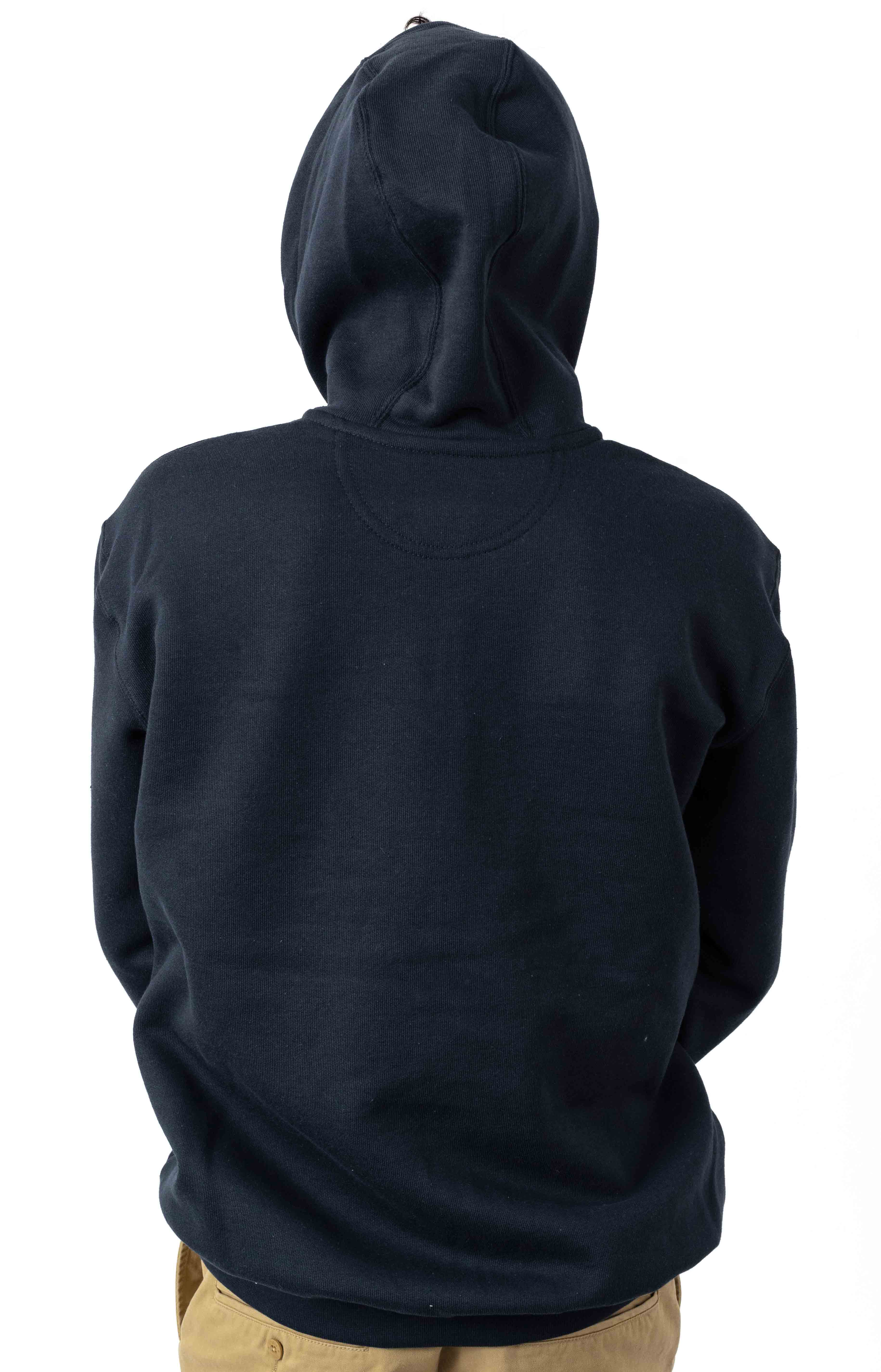 (K122) Midweight Zip-Up Hoodie - New Navy 3