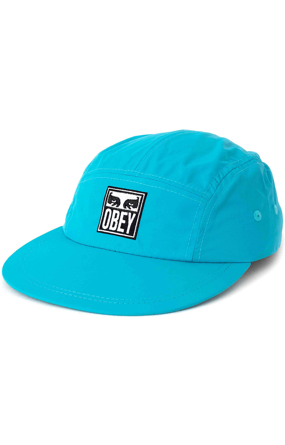 Vanish 5 Panel Hat - Teal